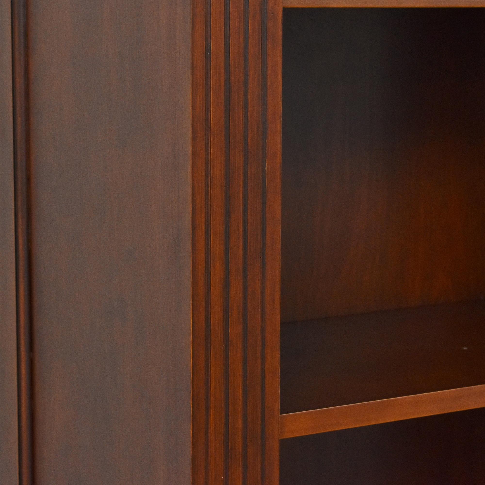 Tall Six Shelf Bookcase