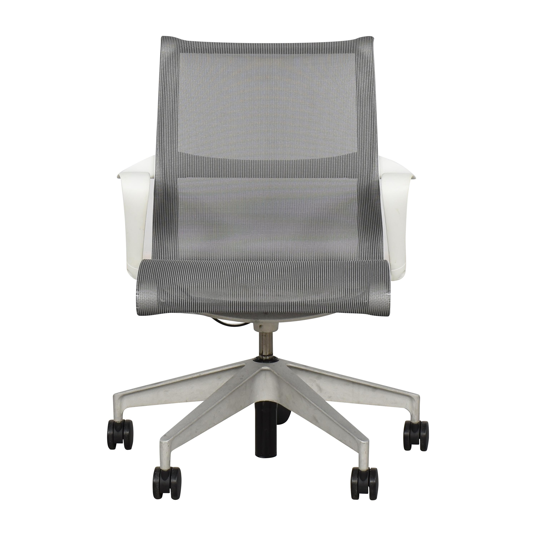 Herman Miller Herman Miller Setu Chair Grey, White