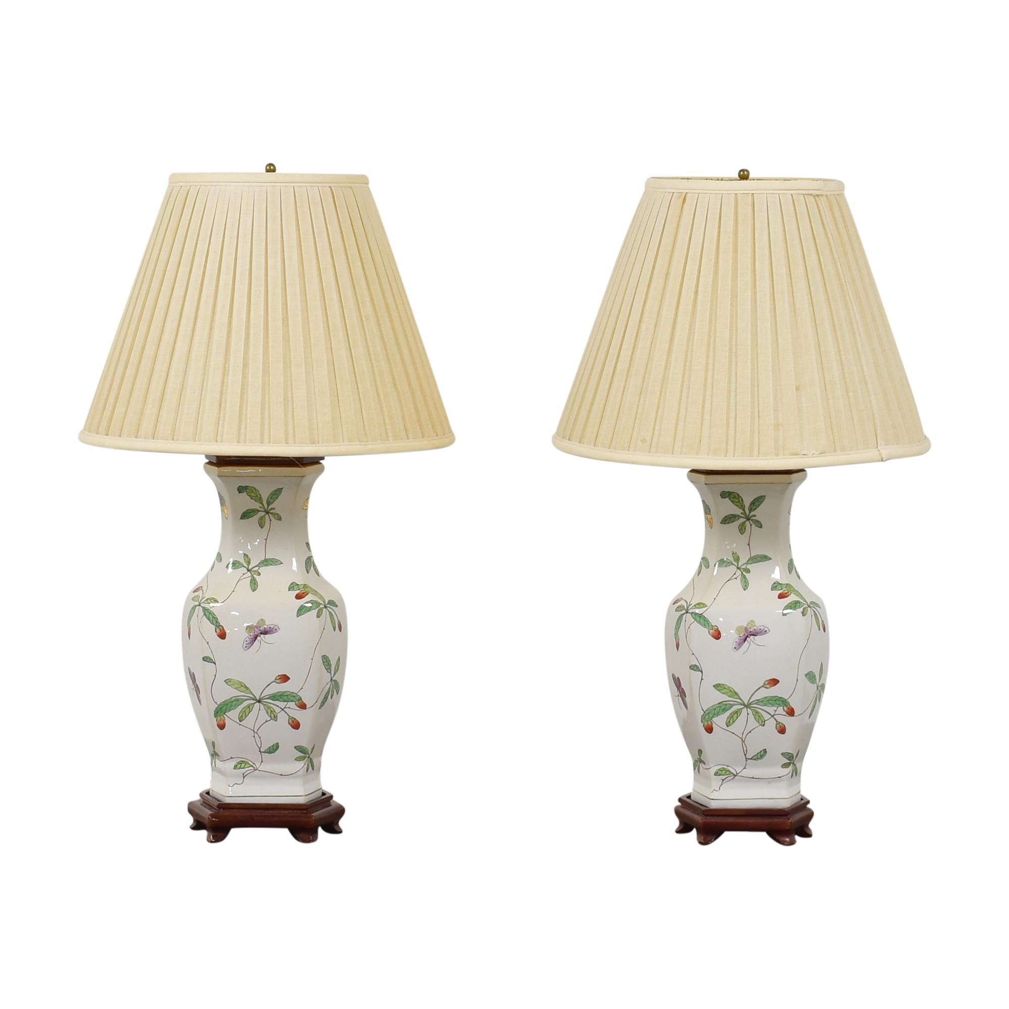 Decorative Floral Table Lamps ct