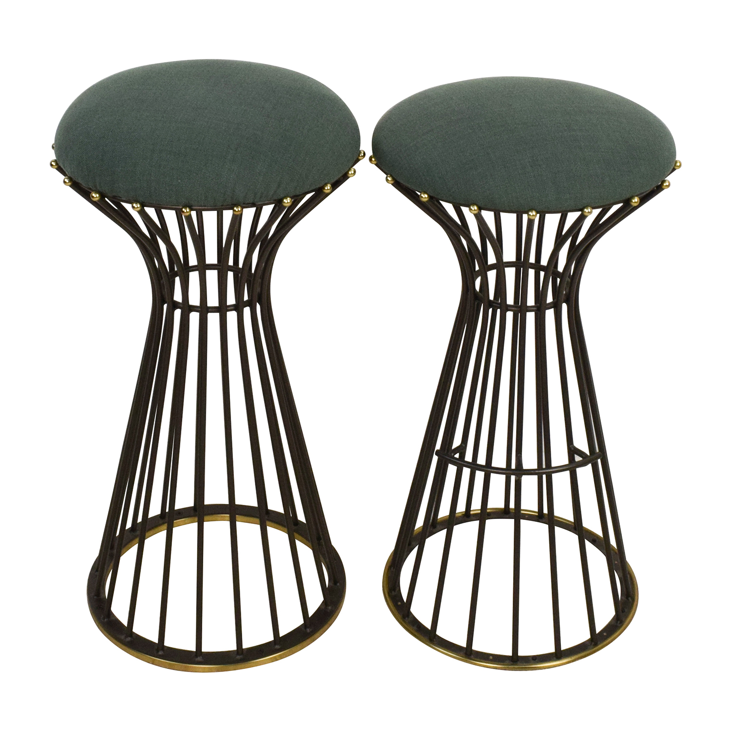 Upholstered Bar Stools used