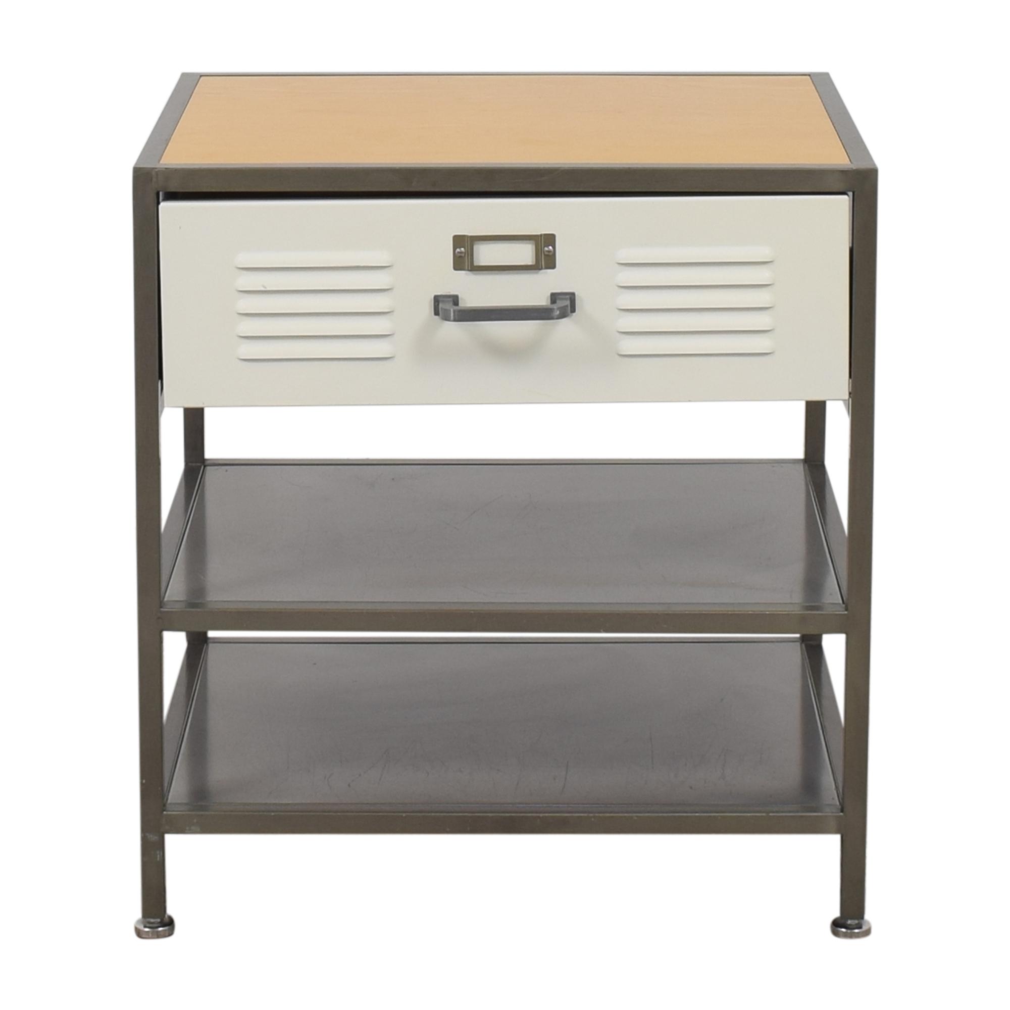 Pottery Barn Teen Pottery Barn Teen Drawer Locker Table/Nightstand End Tables