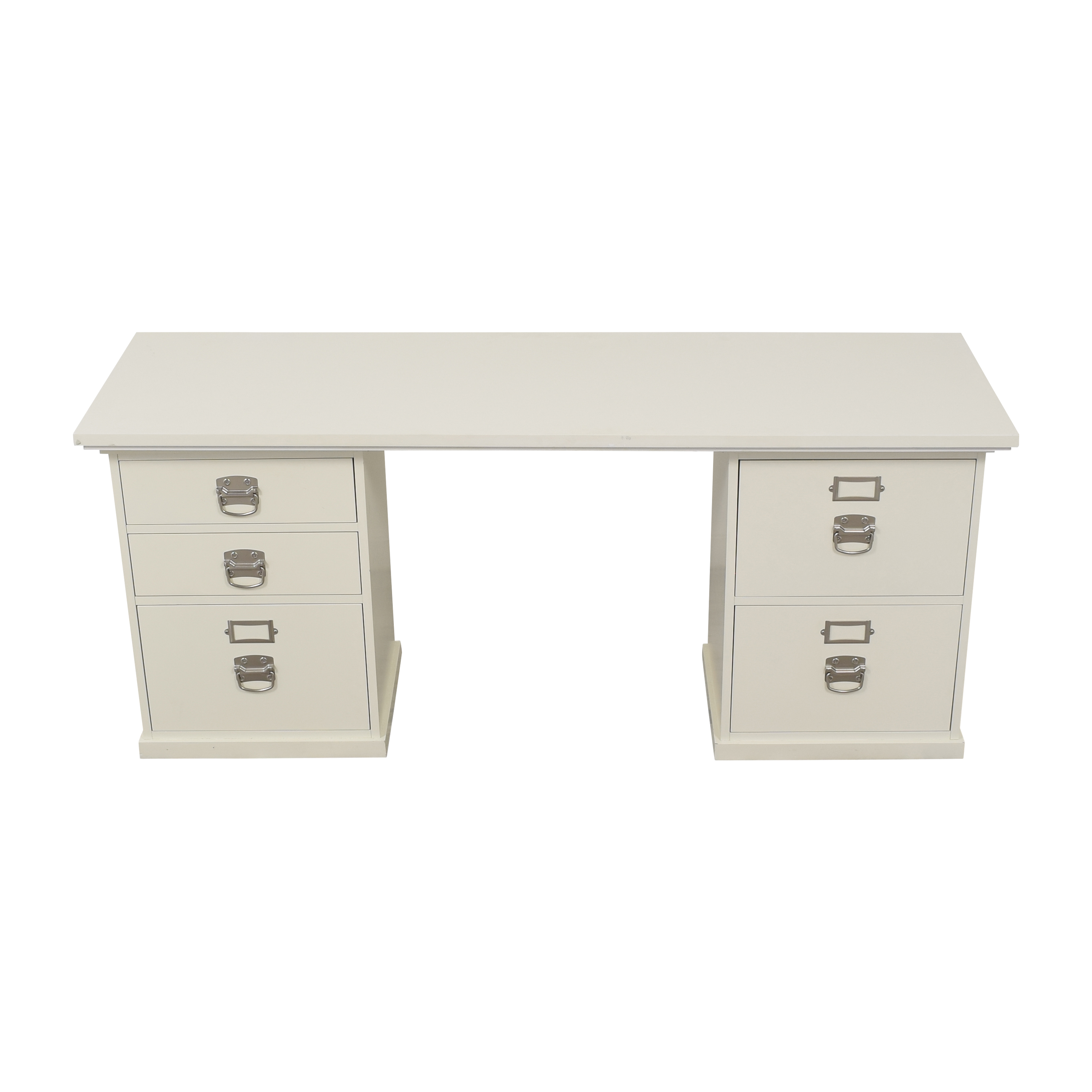 shop Pottery Barn Pottery Barn Bedford Desk with Five Drawers online
