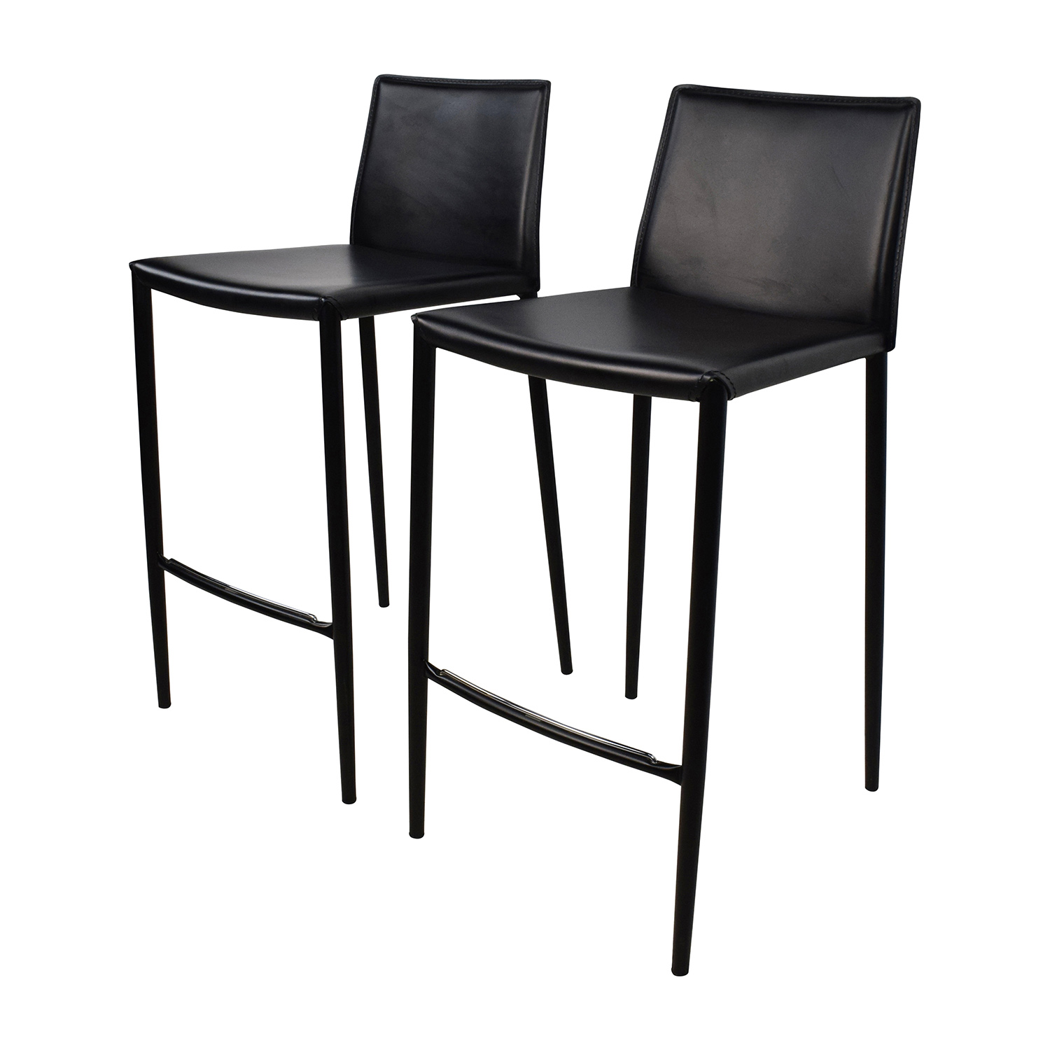 80 off calligaris calligaris boheme black leather bar