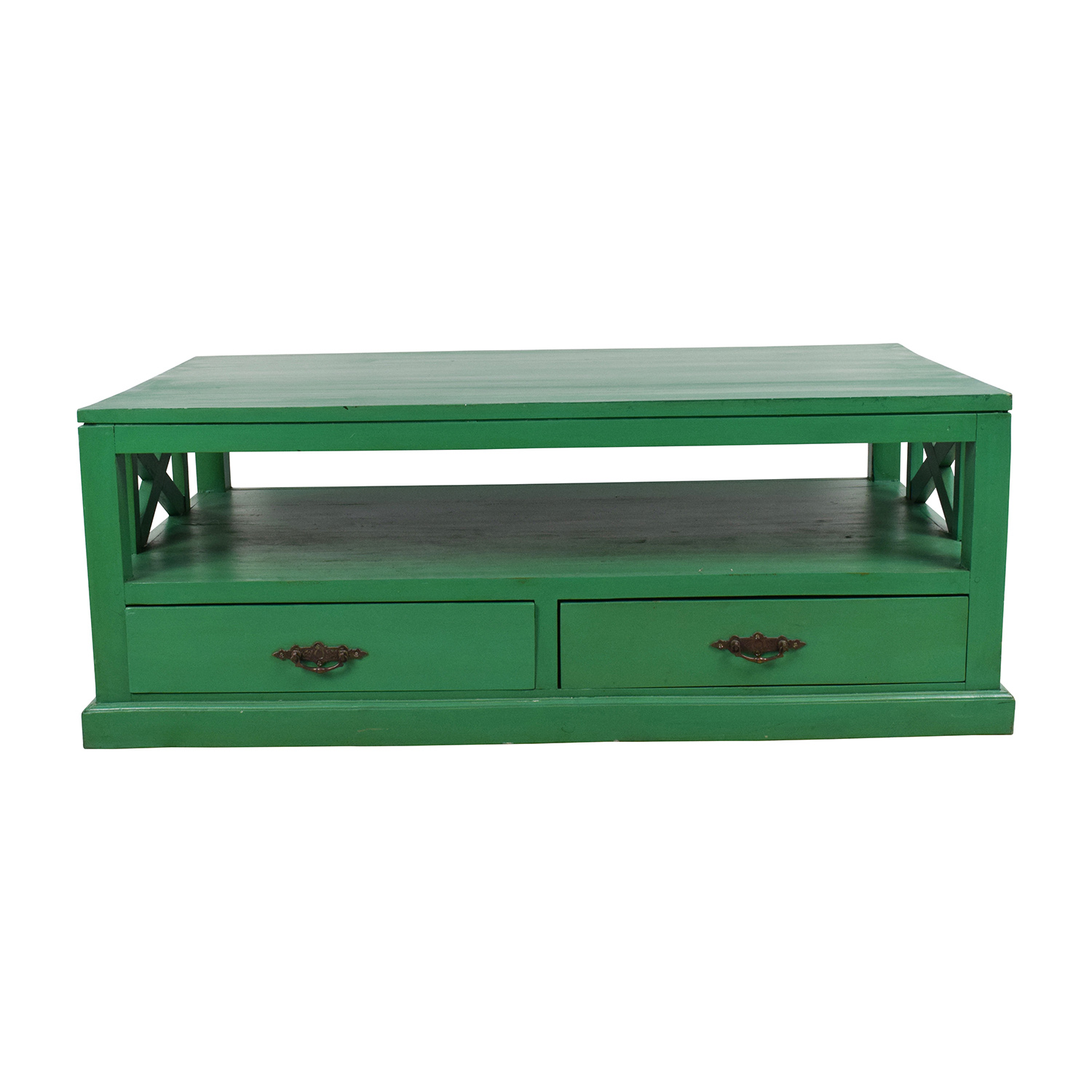 Nadeau Nadeau Handmade Green Coffee Table coupon