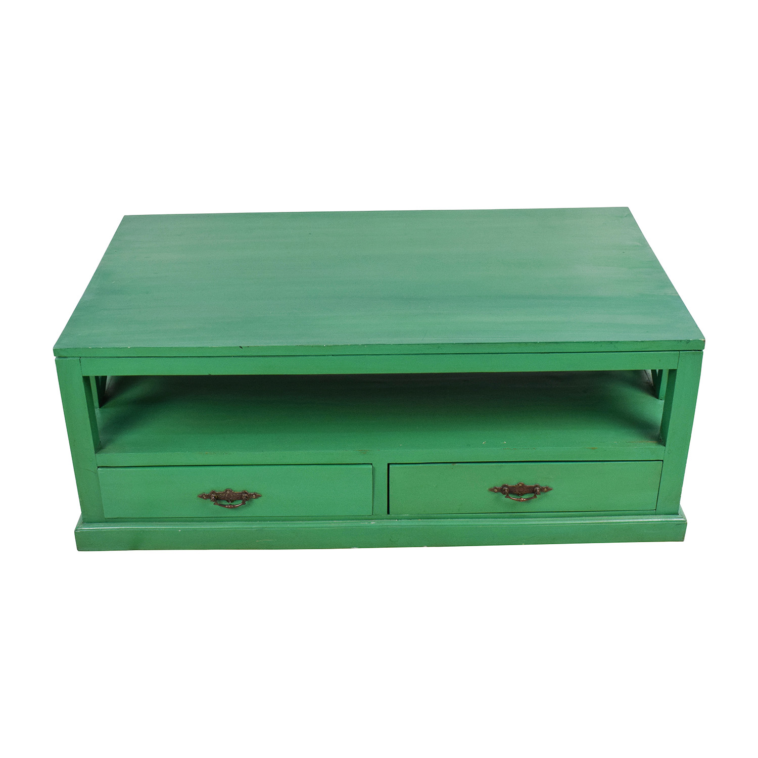 shop Nadeau Nadeau Handmade Green Coffee Table online