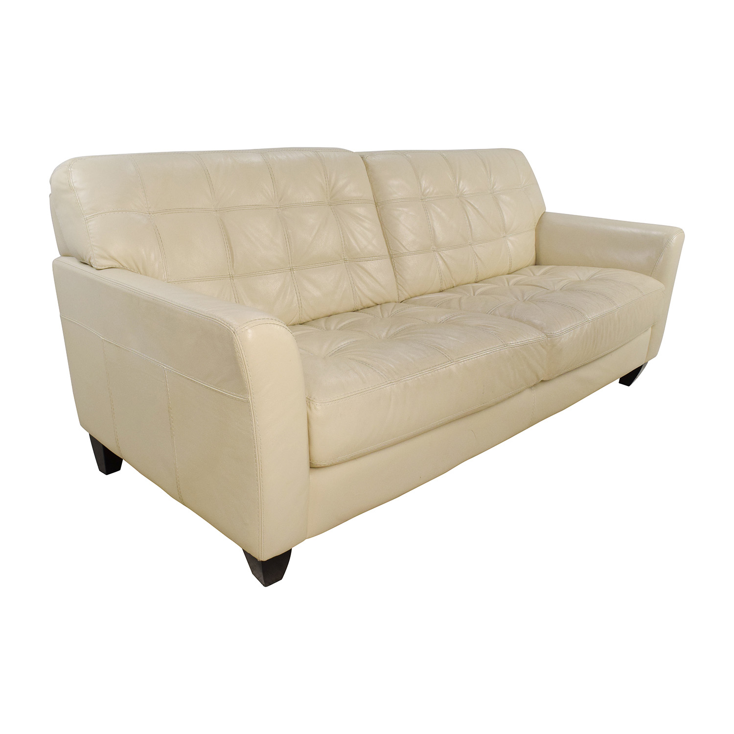 10 Best Collection Of Off White Leather Sofas: Leather Sofa Macys Furniture Marsilla Leather Sofa