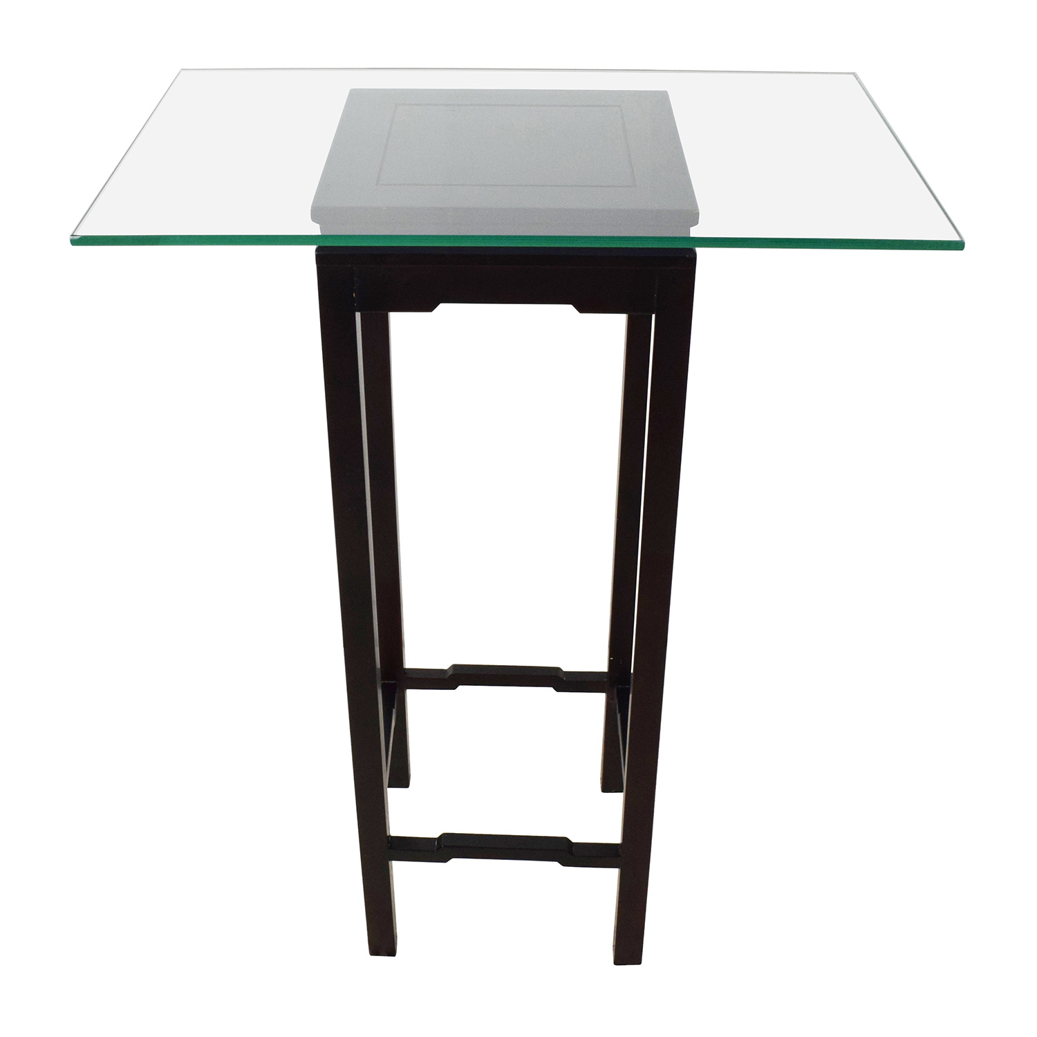 71% OFF Black Modern Console table Tables