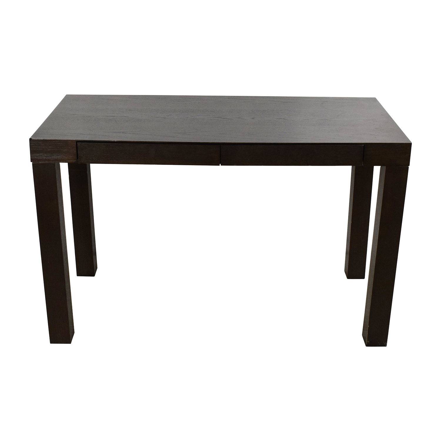 West Elm West Elm Parsons Brown Desk dimensions