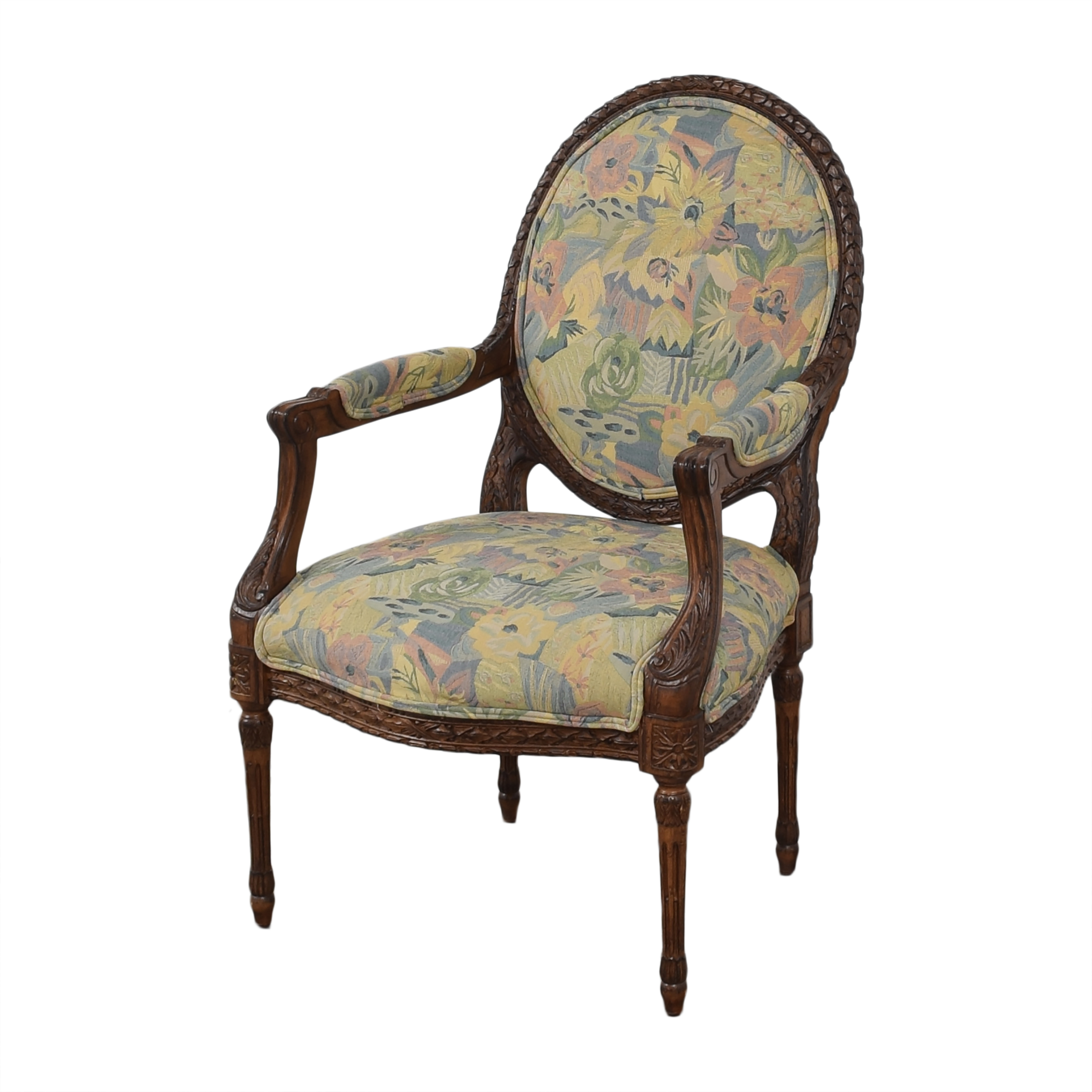 shop Meyer Gunther Martini Carved Arm Chairs Meyer Gunther Martini Accent Chairs