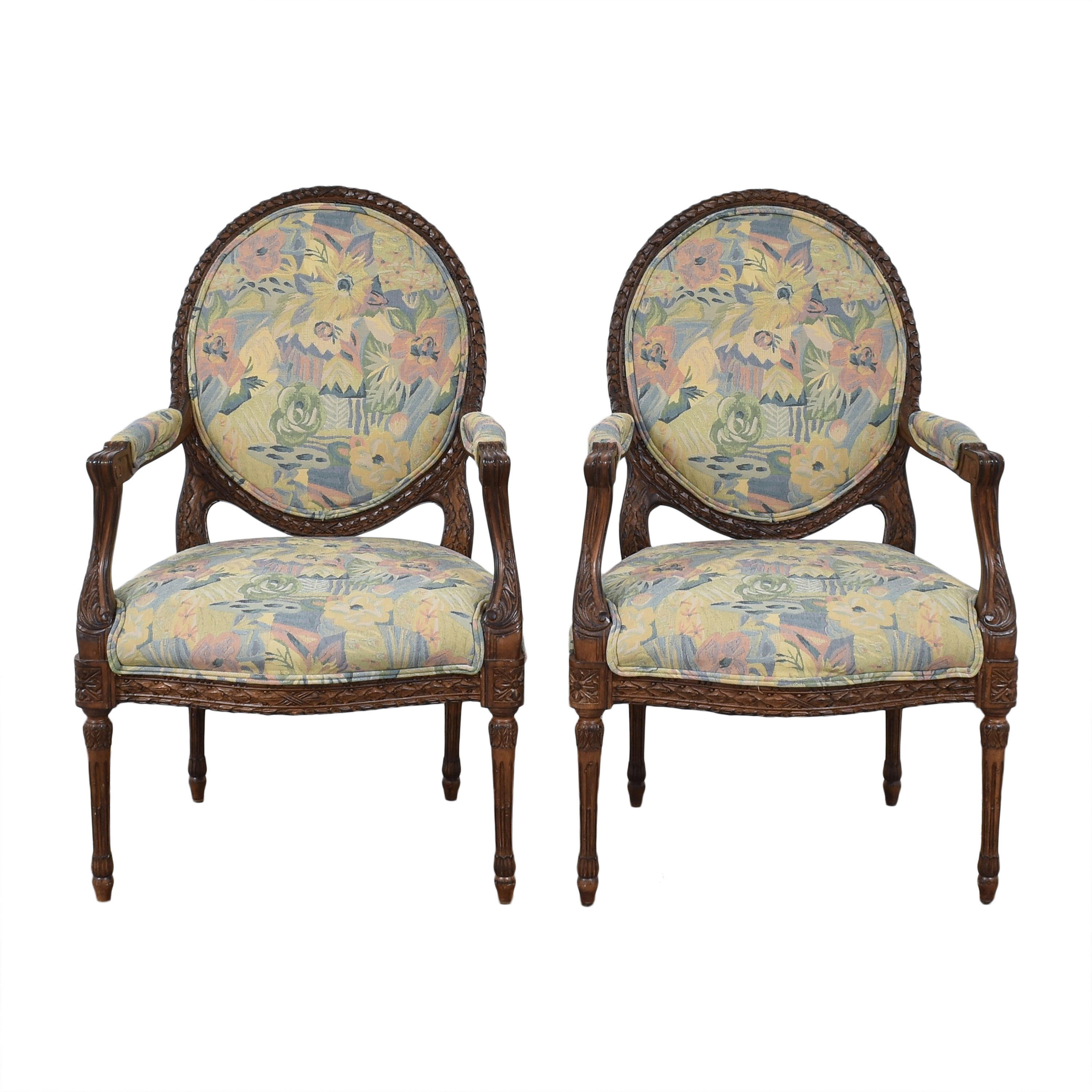 Meyer Gunther Martini Meyer Gunther Martini Carved Arm Chairs coupon