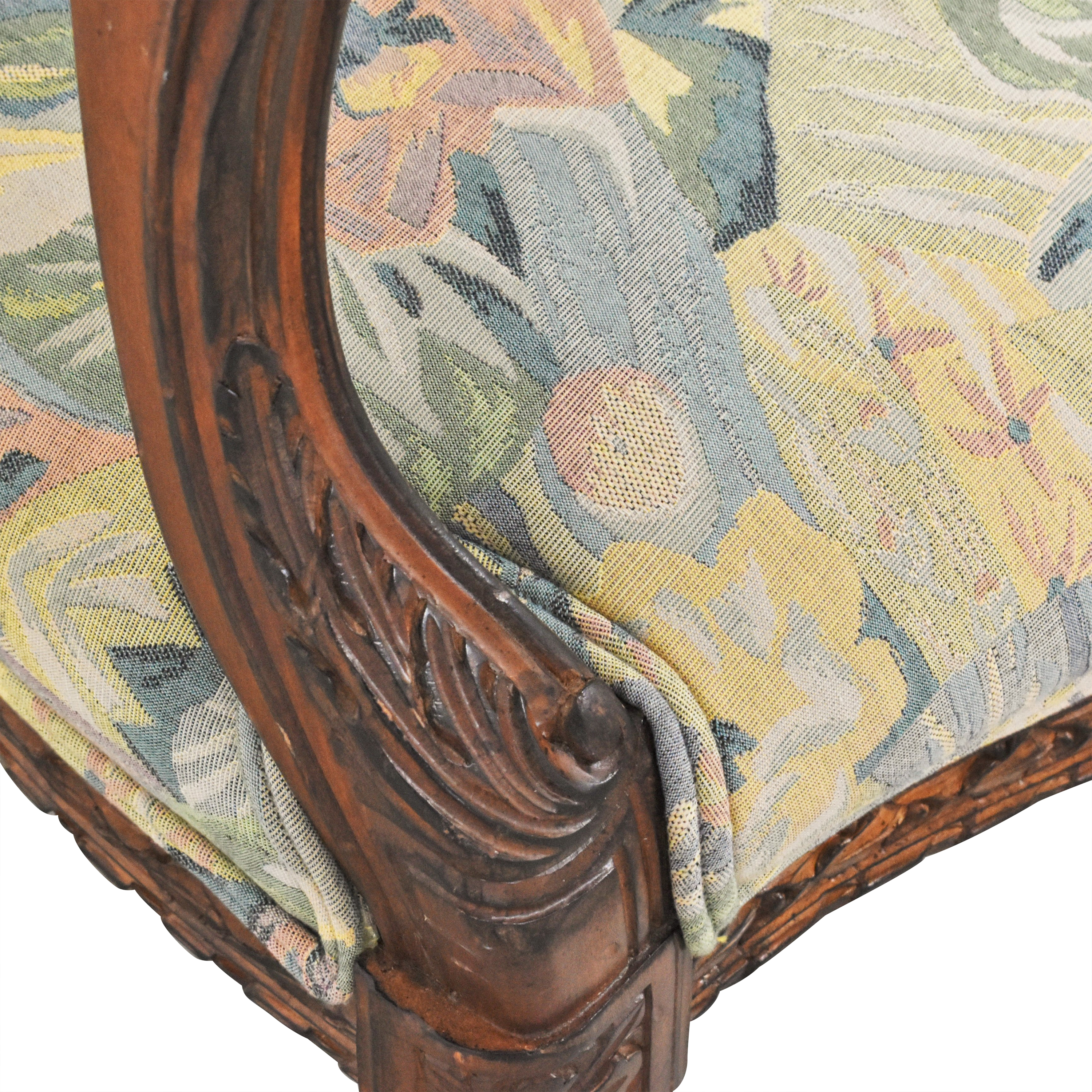 Meyer Gunther Martini Meyer Gunther Martini Carved Arm Chairs discount