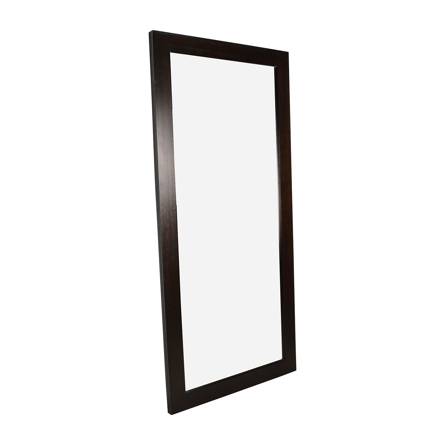 Wood Framed Tall Standing Mirror