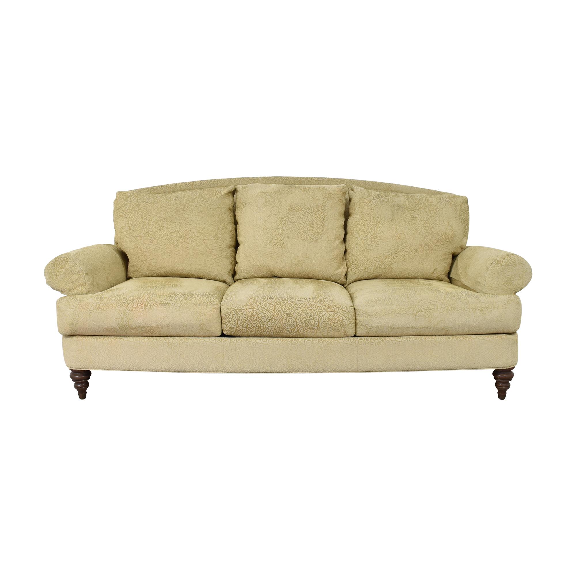 Ethan Allen Ethan Allen Hyde Three Cushion Sofa Sofas
