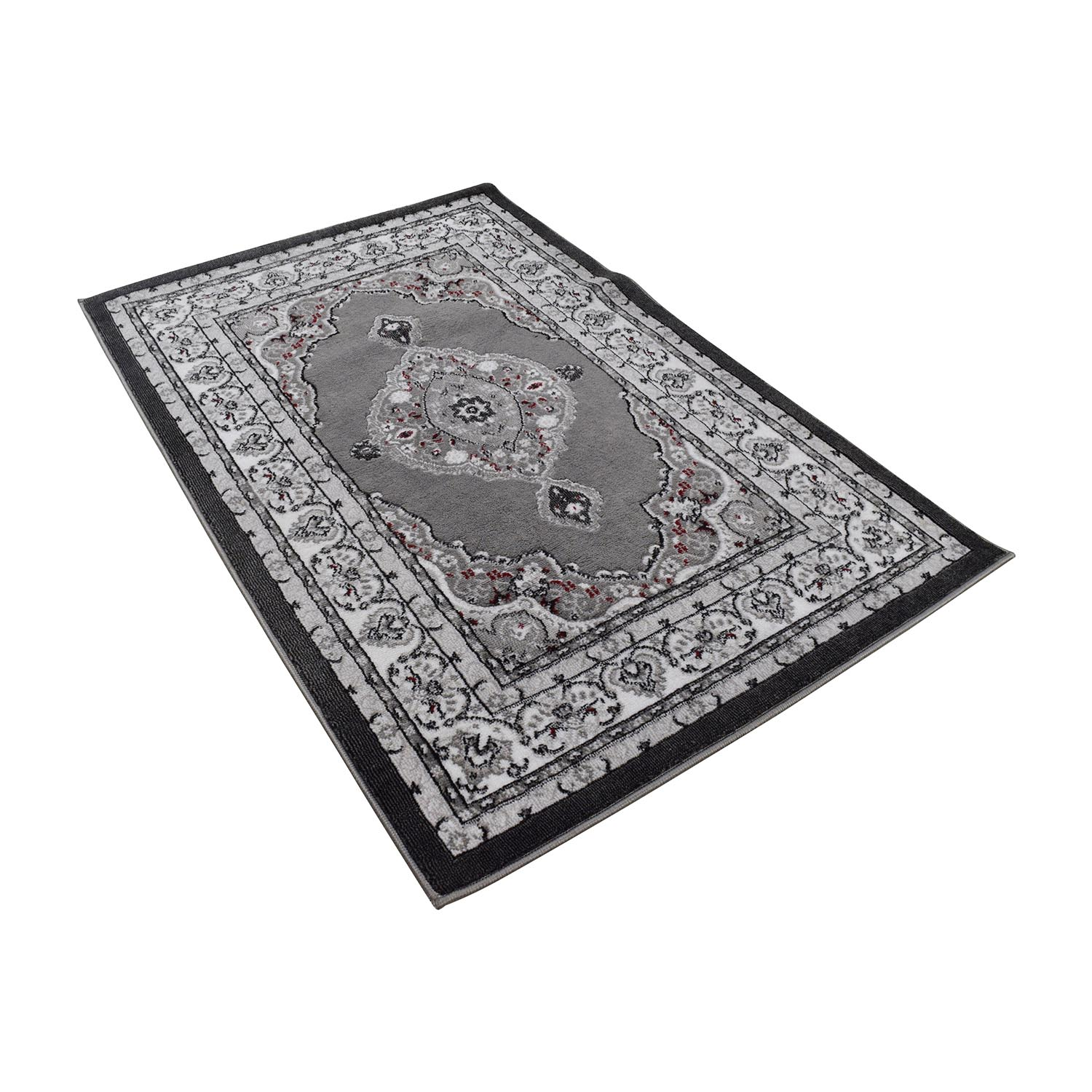 Sensational 57 Off Well Woven Dulcet Collection Grey And Black Print Rug Decor Dailytribune Chair Design For Home Dailytribuneorg