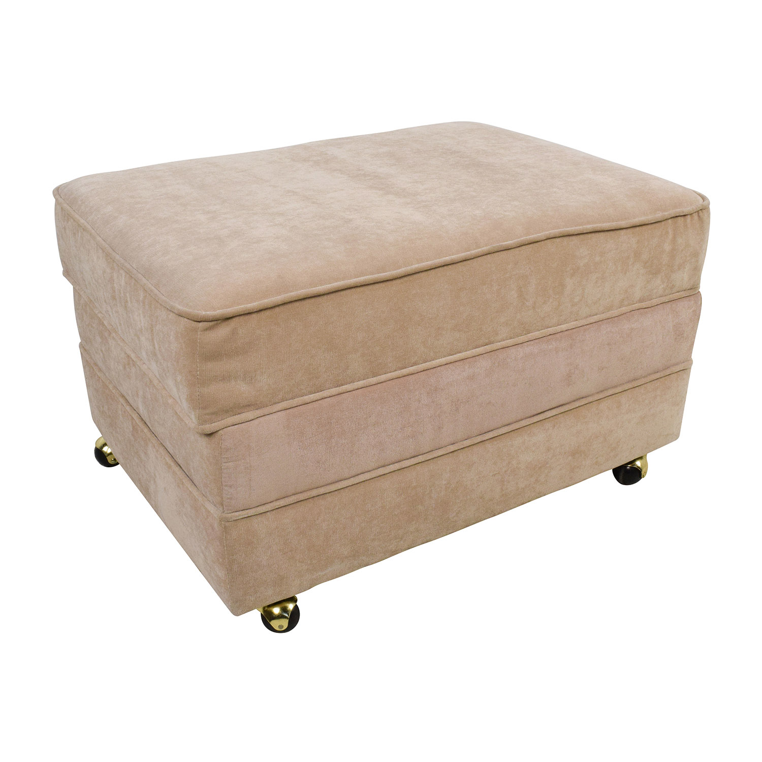 Perfect ... Shop Bobu0027s Furniture Bobu0027s Furniture Tan Storage Ottoman With Storage  ...
