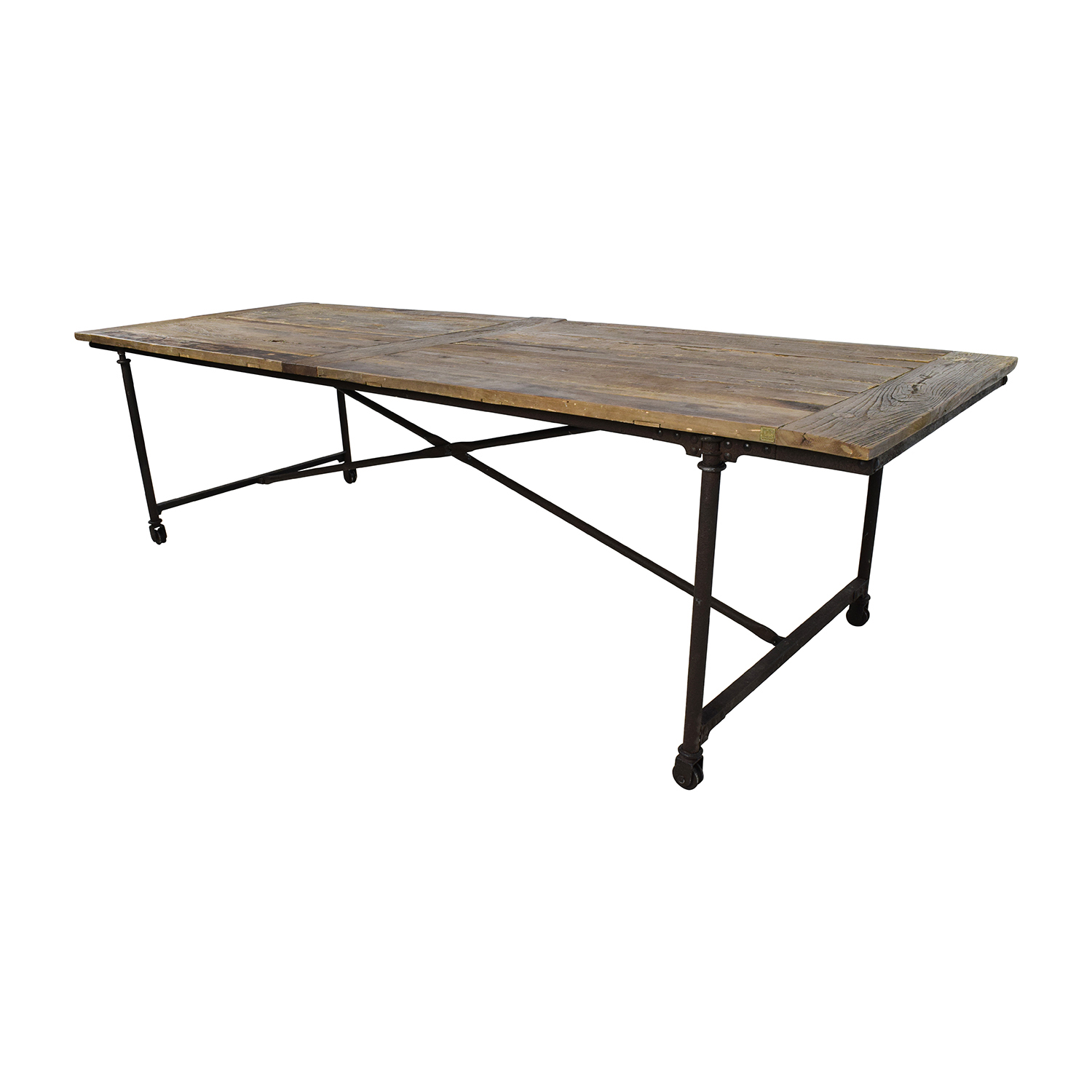 ... Restoration Hardware Restoration Hardware Flat Iron Rectangular Dining  Table Nyc ... Part 57