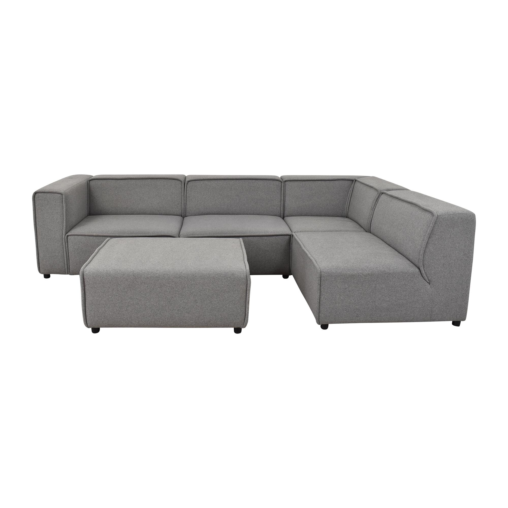 BoConcept BoConcept Carmo Sectional Sofa with Ottoman ct