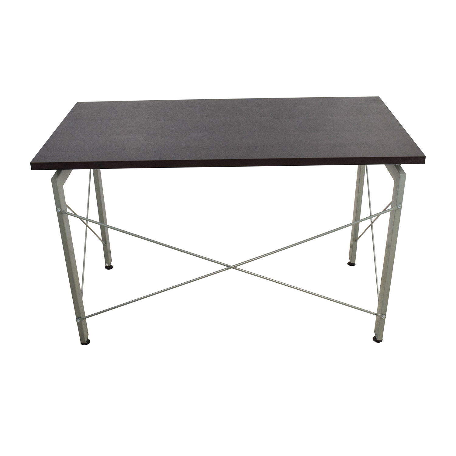 All Modern All Modern Wood and Metal Desk on sale