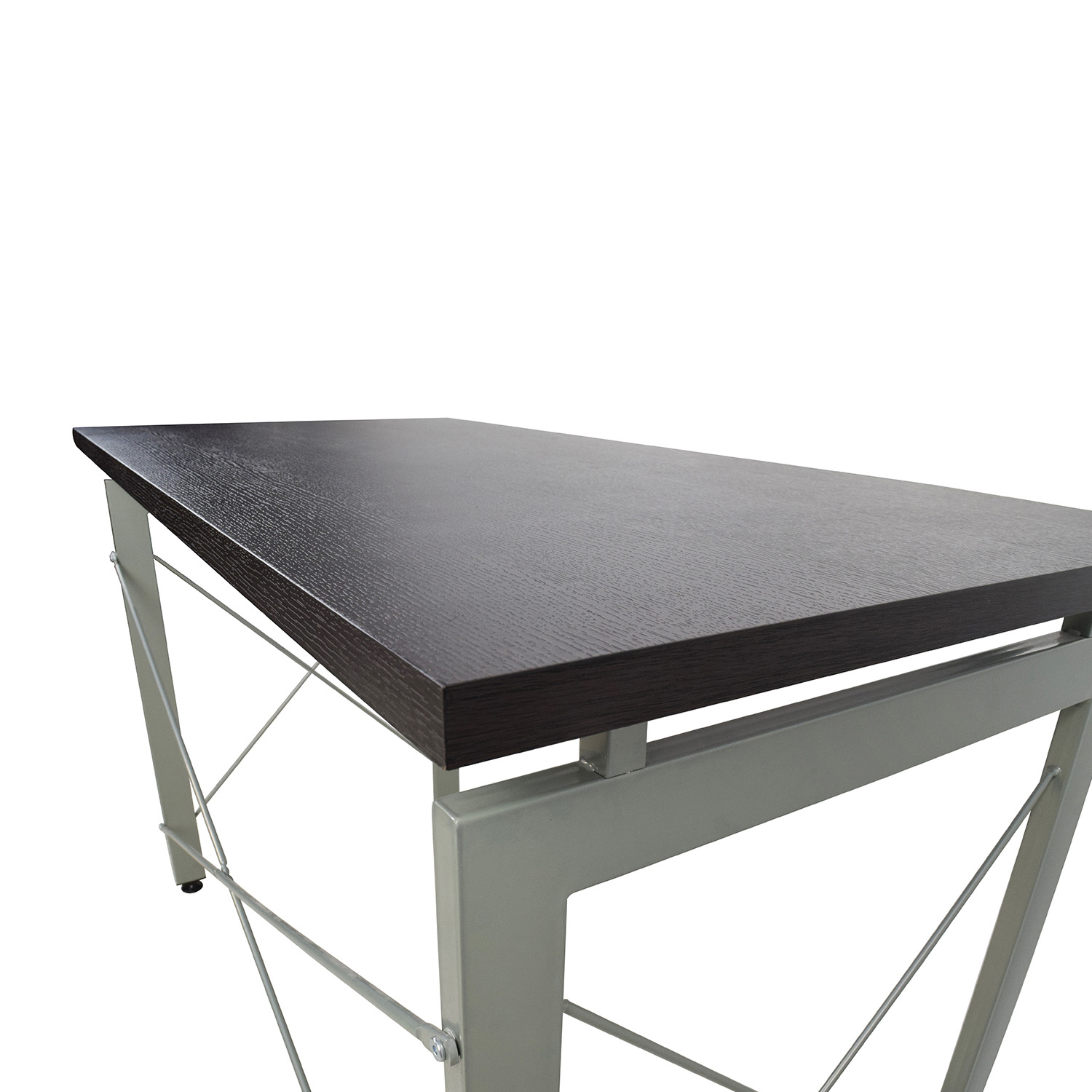 39 off all modern all modern wood and metal desk tables for Metal desk with wood top