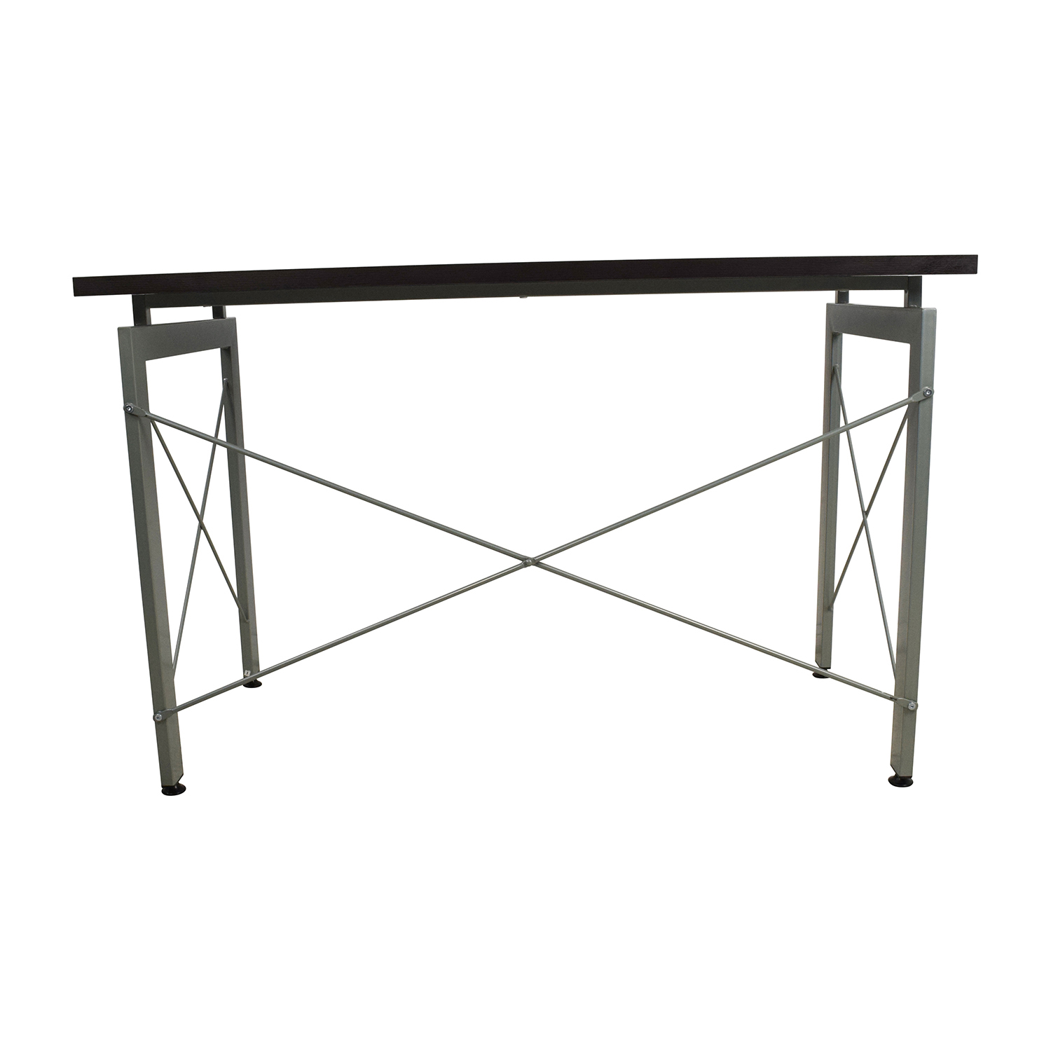 buy All Modern Wood and Metal Desk All Modern