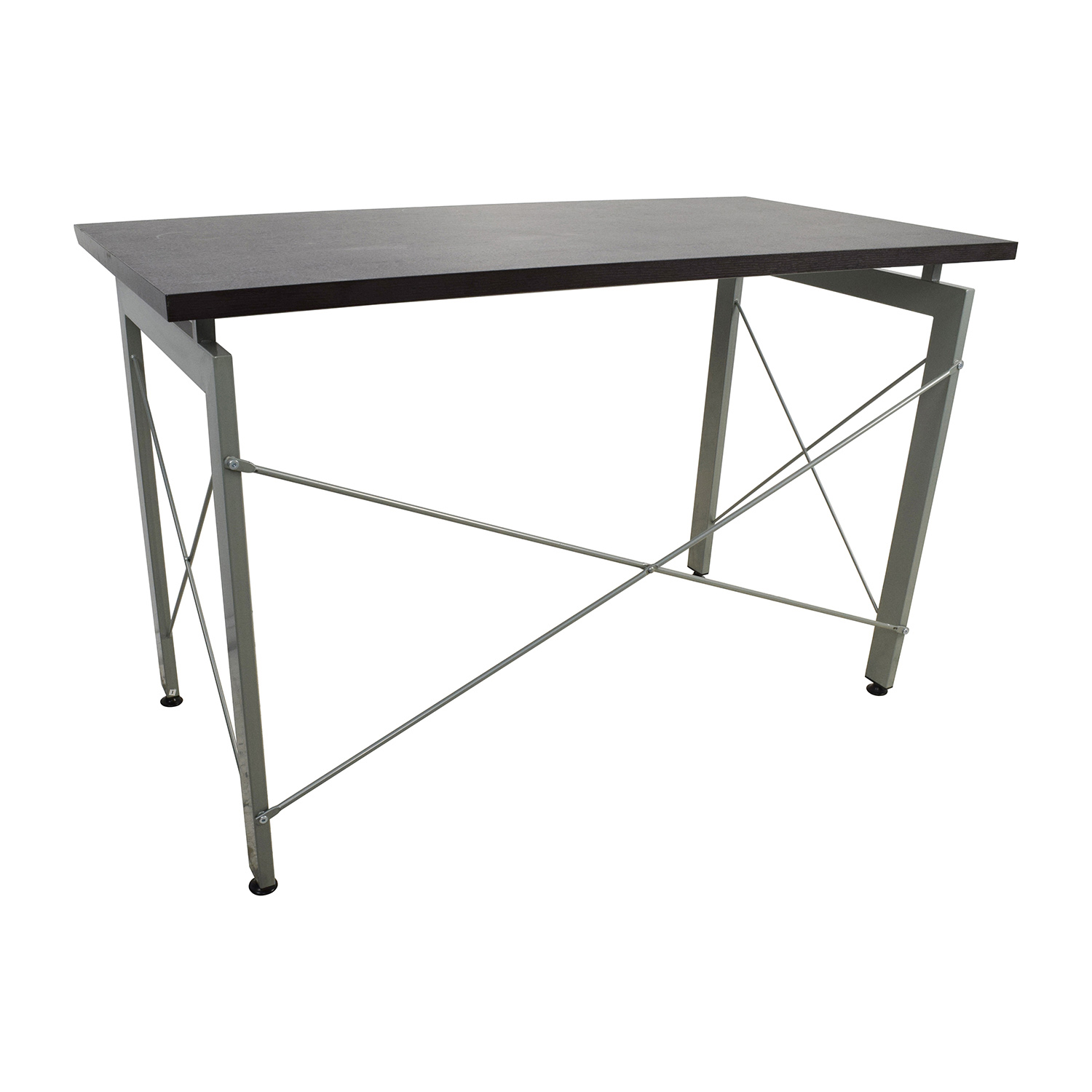 39% OFF All Modern All Modern Wood and Metal Desk Tables