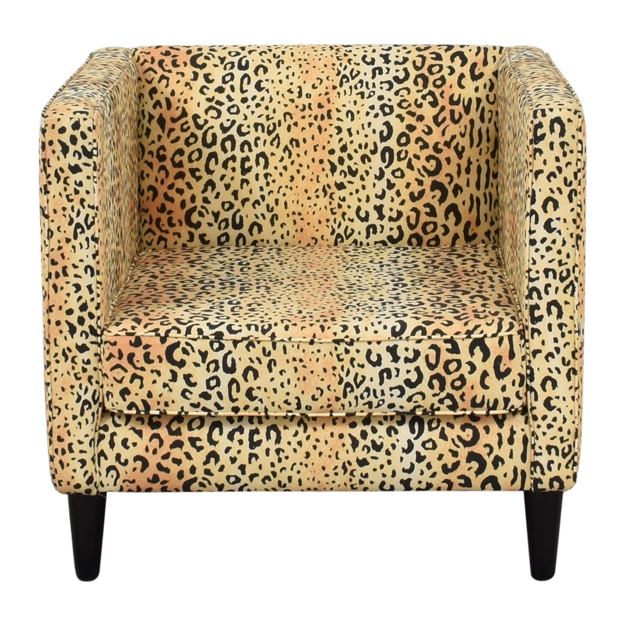 The Inside The Inside Leopard Tuxedo Chair discount