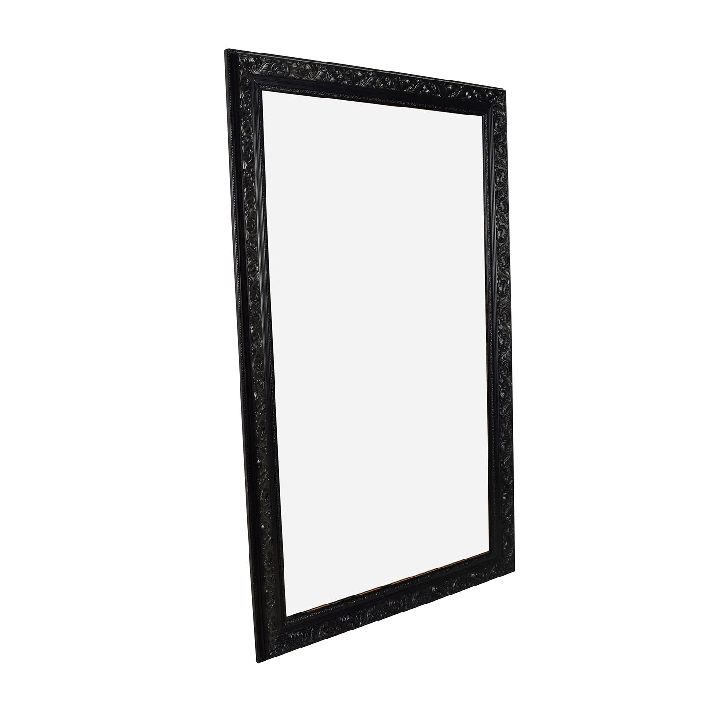 Antique Antique Ornate Frame Mirror dimensions