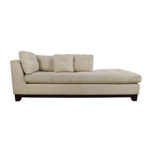 buy Freestyle Freestyle Tufted Natural Fabric Sofa Chaise online