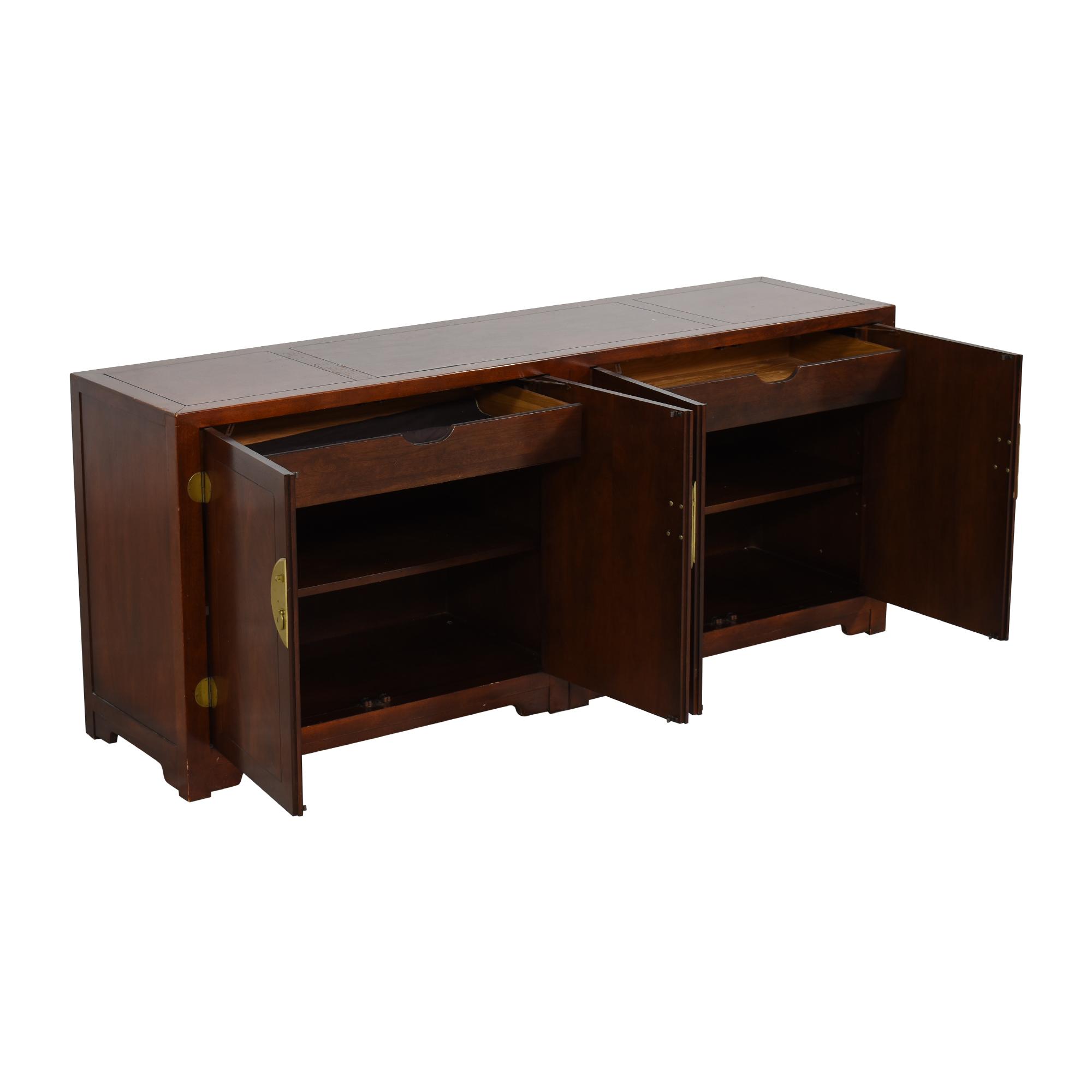 shop Baker Furniture Baker Furniture Far East Collection Double Chest Sideboard online