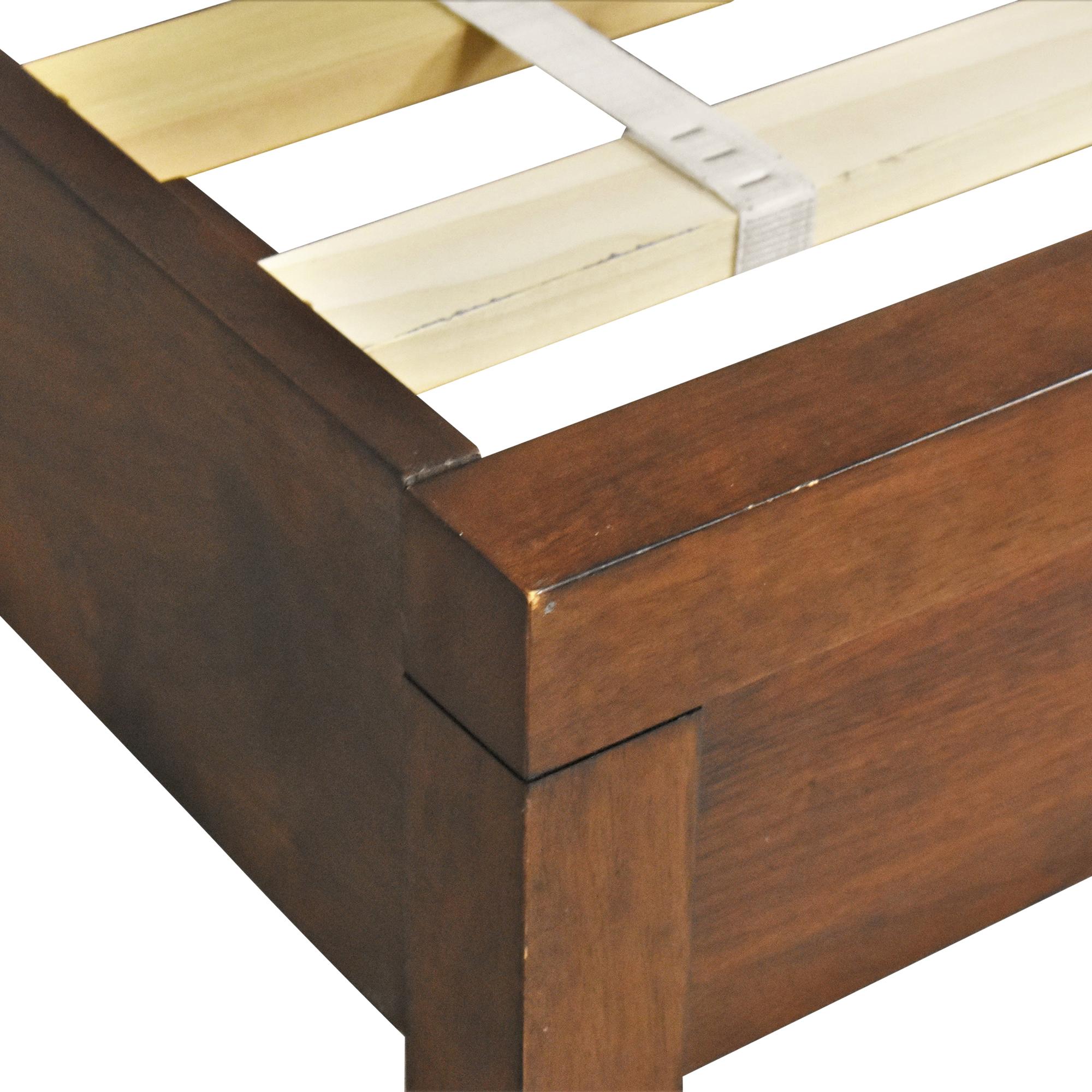shop West Elm Vonnegut/Kraft Queen Bed West Elm Bed Frames