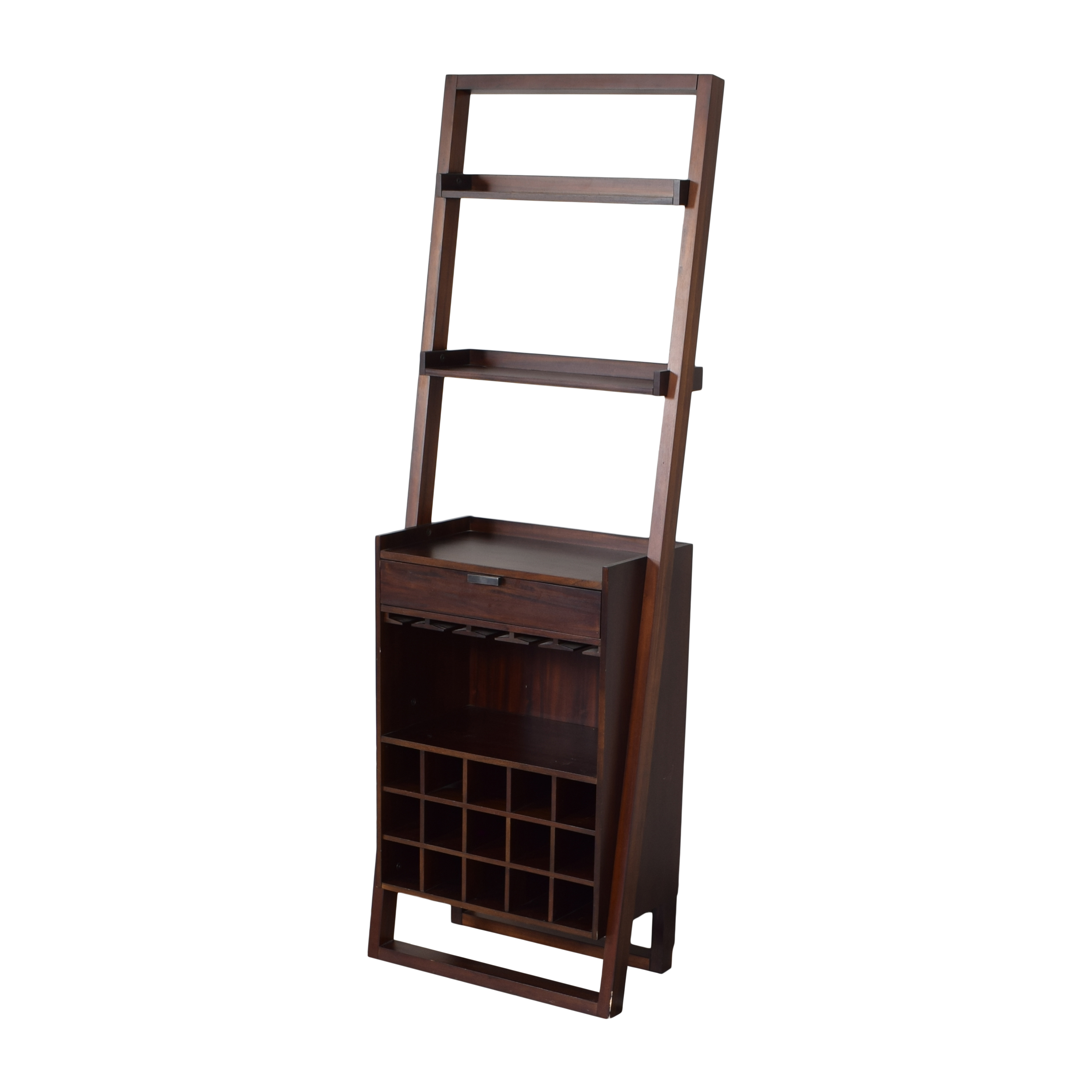 Crate & Barrel Crate and Barrel Sloane Leaning Wine Bar for sale