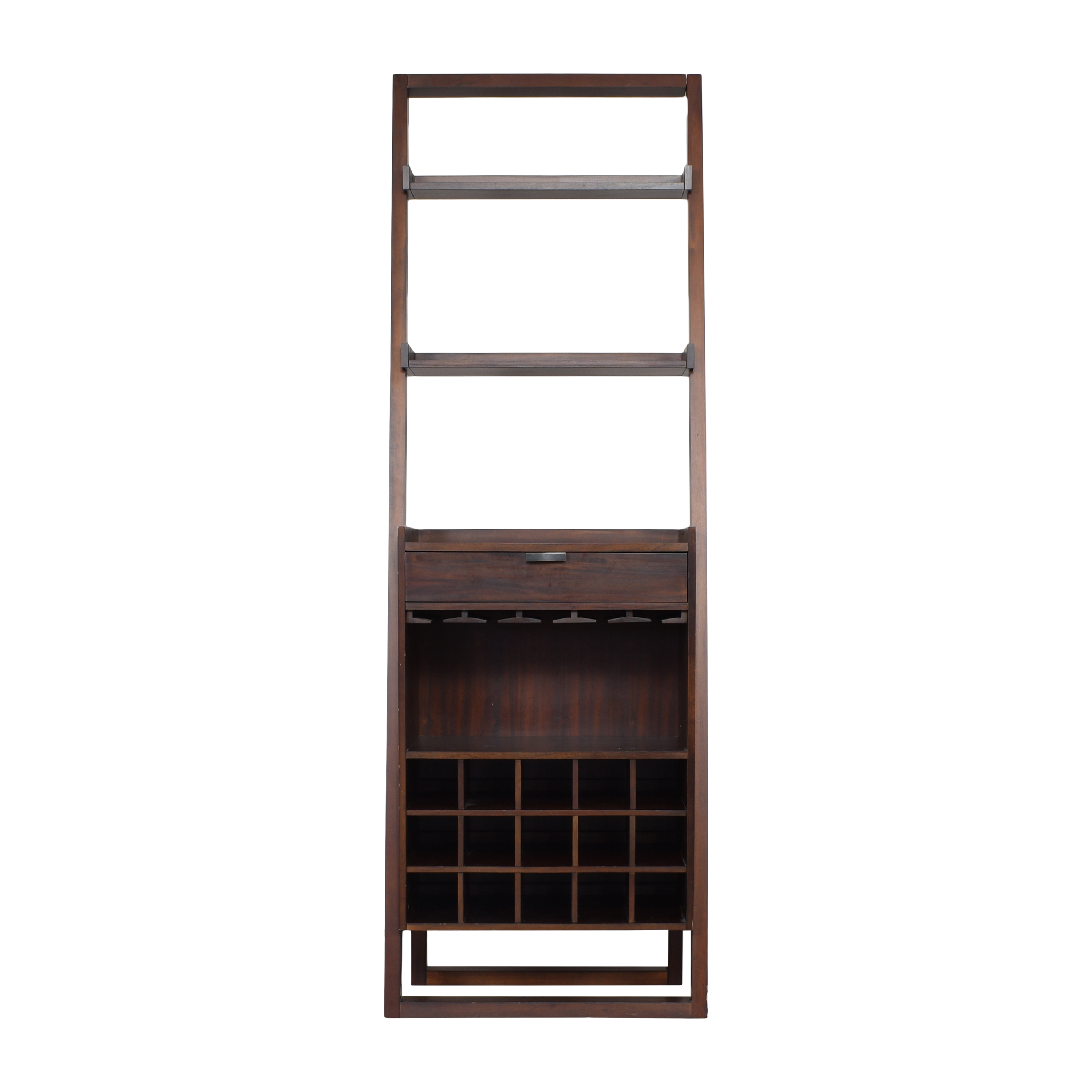 Crate & Barrel Crate and Barrel Sloane Leaning Wine Bar price