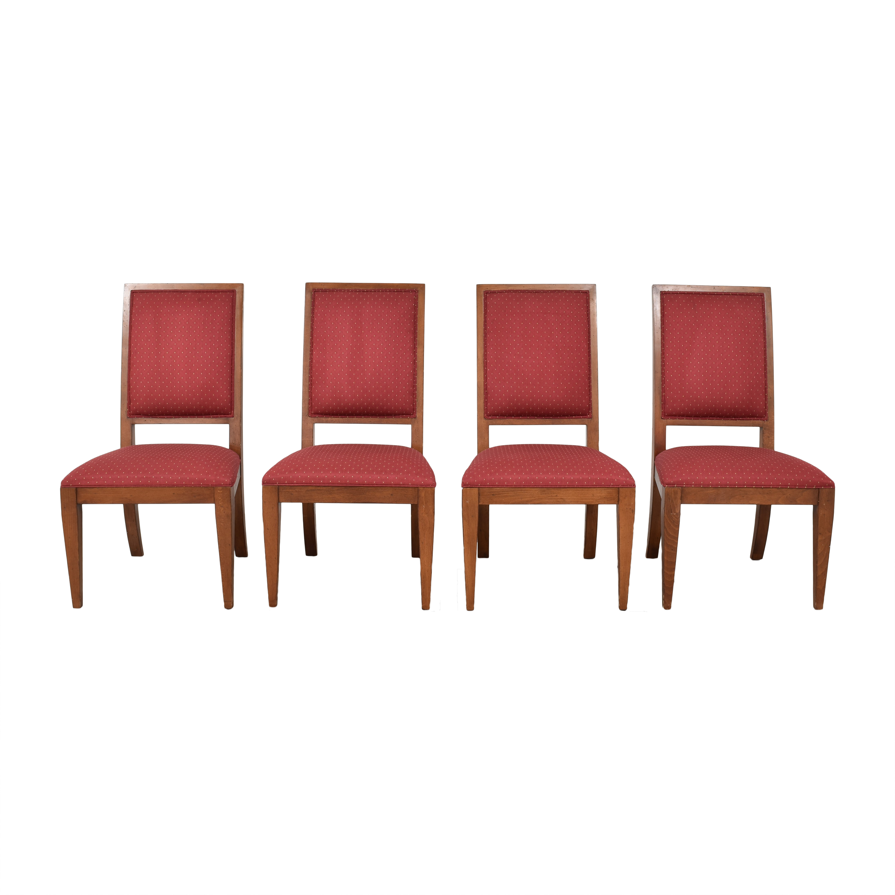 Ethan Allen Ethan Allen Upholstered Dining Chairs pa