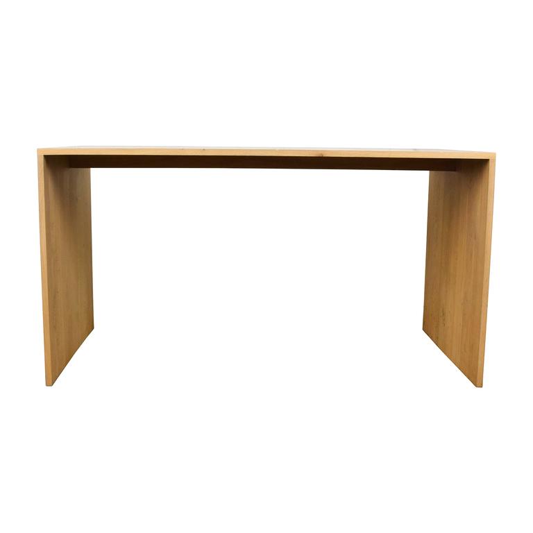 buy Crate & Barrel Crate & Barrel Raw Oak Wood Desk online