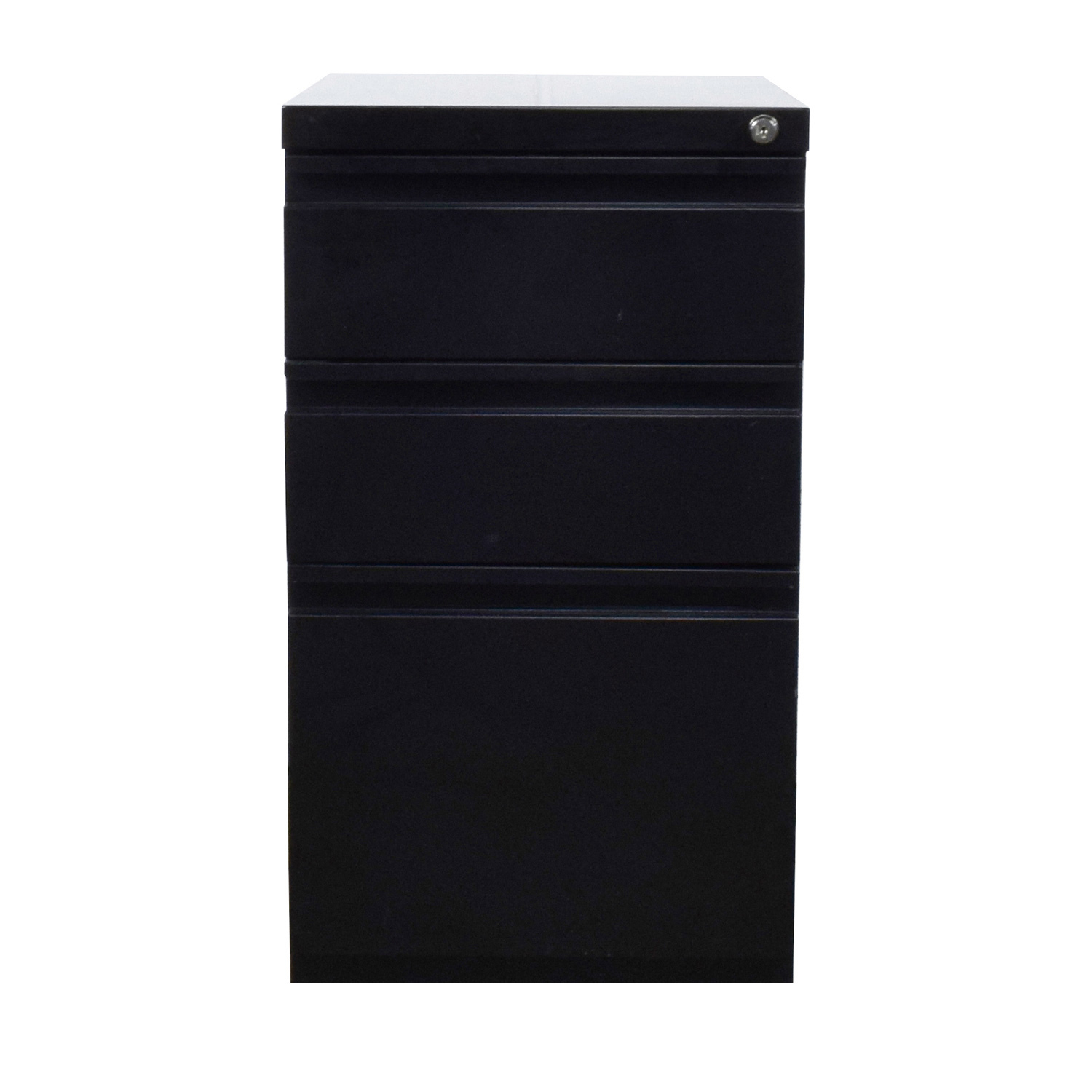 Black File Cabinet dimensions