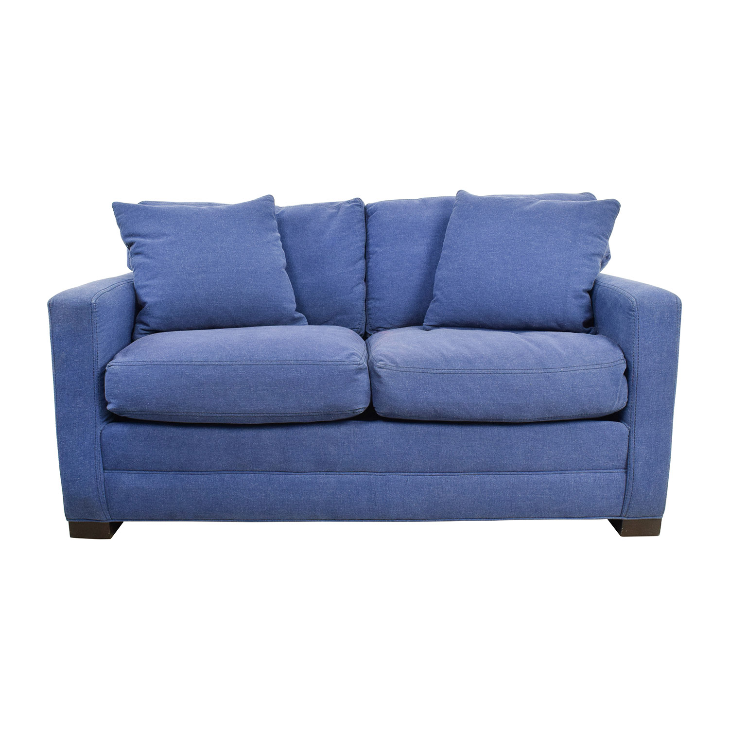 lee industries lee industries denim blue loveseat blue - Lee Industries Sofa
