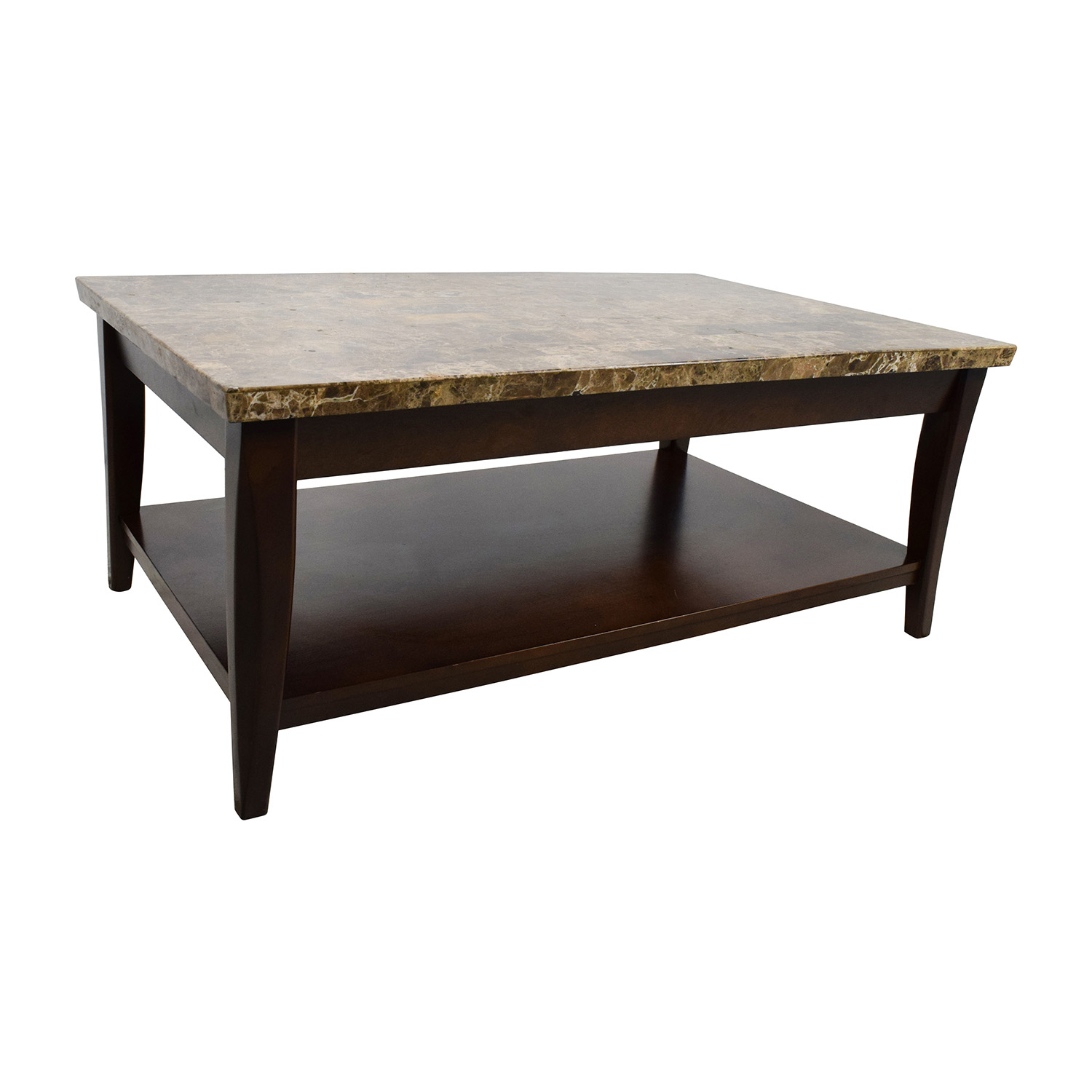 Marble Wood Coffee Table Rascalartsnyc