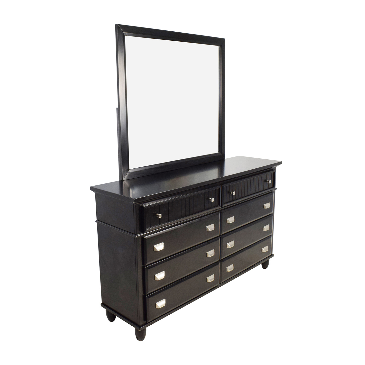 with vaughan furniture magnifier buy bassett forsyth merlot raw dresser mirror drawer finish