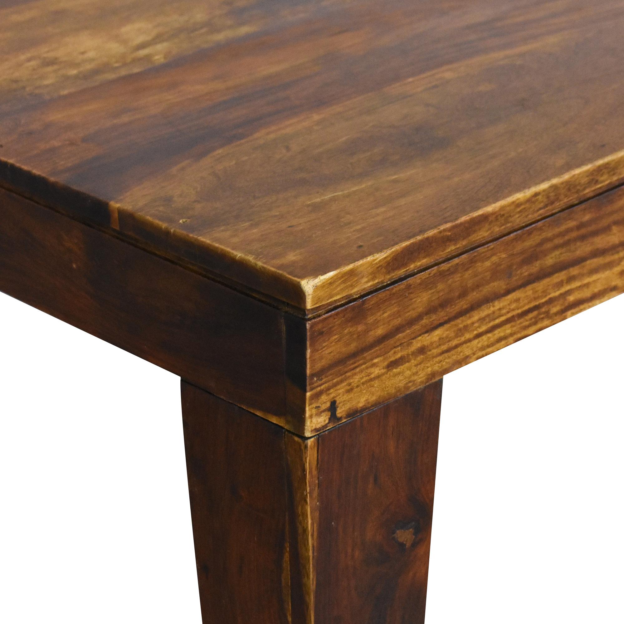 Farmhouse Dining Table brown