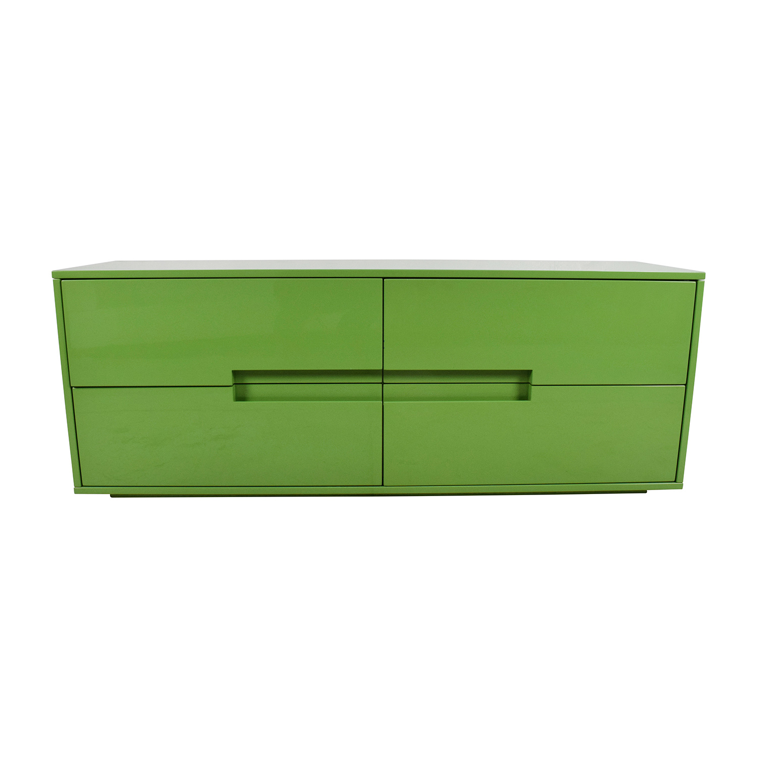 CB2 CB2 Latitude Low Dresser 4 Drawer