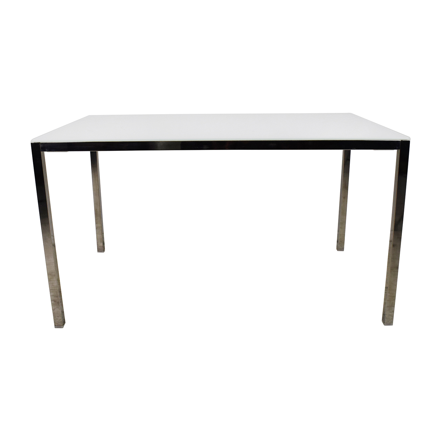 85 off ikea ikea torsby large glass top dining table for Glass dining table
