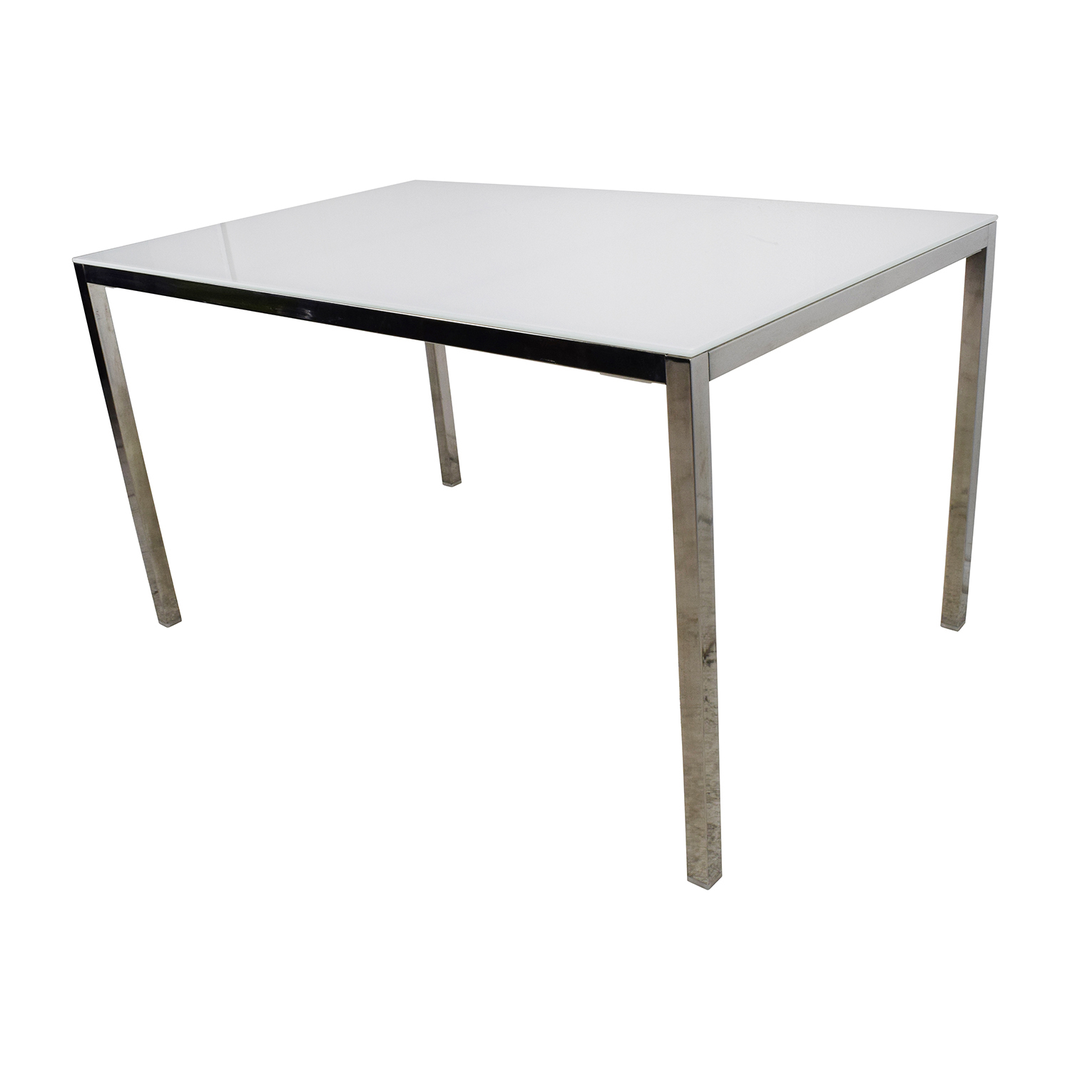 ... IKEA Torsby Large Glass Top Dining Table / Tables ...