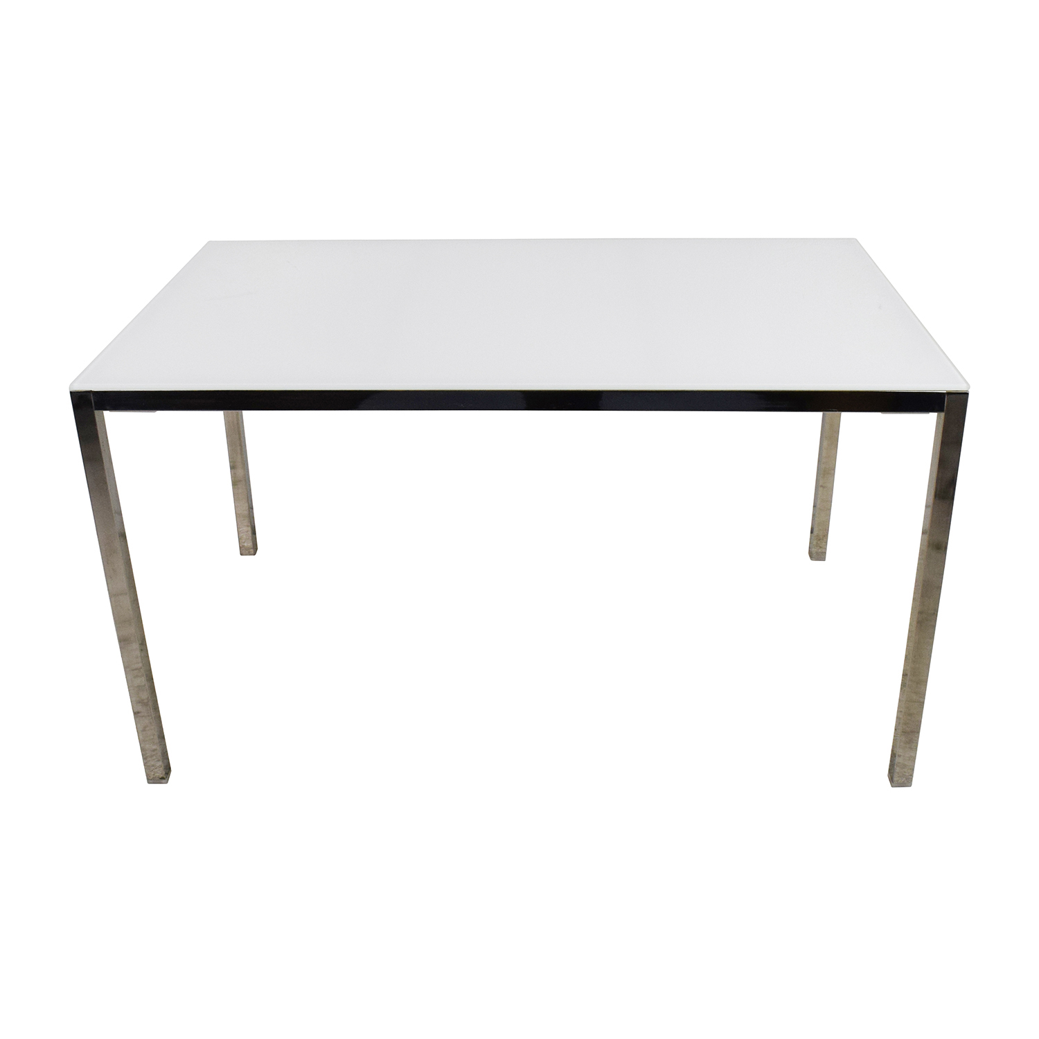 IKEA Torsby Large Glass Top Dining Table IKEA