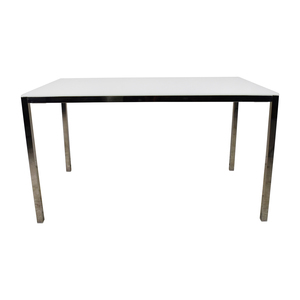 IKEA IKEA Torsby Large Glass Top Dining Table second hand