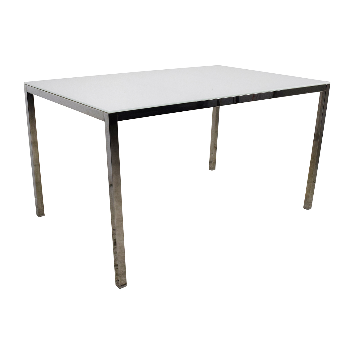 85 off ikea ikea torsby large glass top dining table for Ikea glass table tops