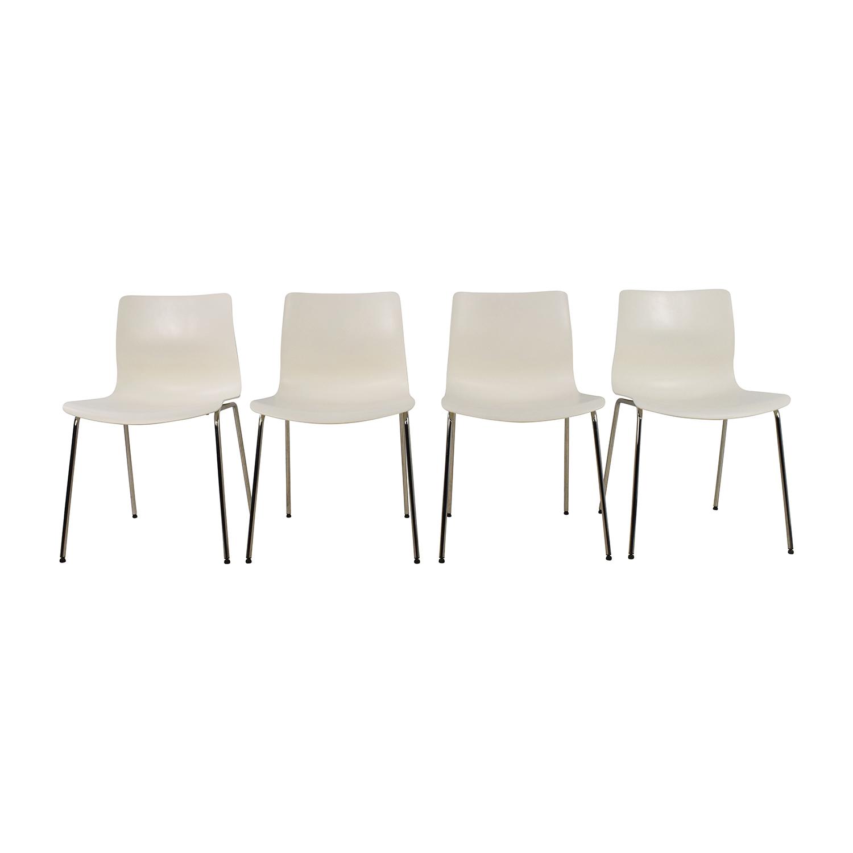 IKEA IKEA Erlund White Chairs nj
