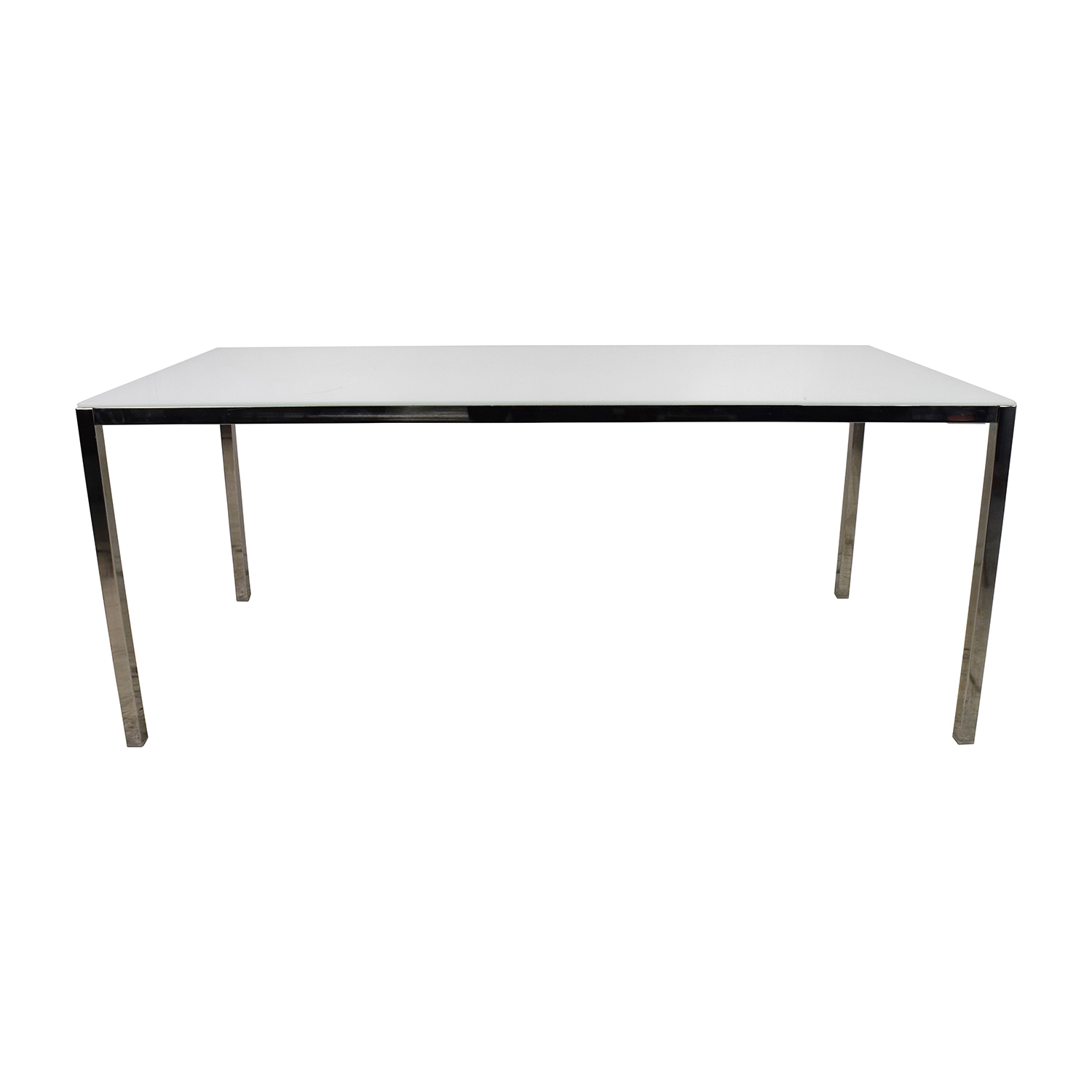 65 off ikea torsby large glass dining table tables