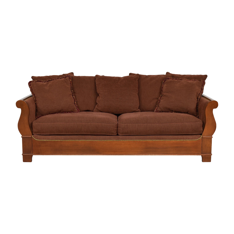 Two Cushion Nailhead Sofa ct