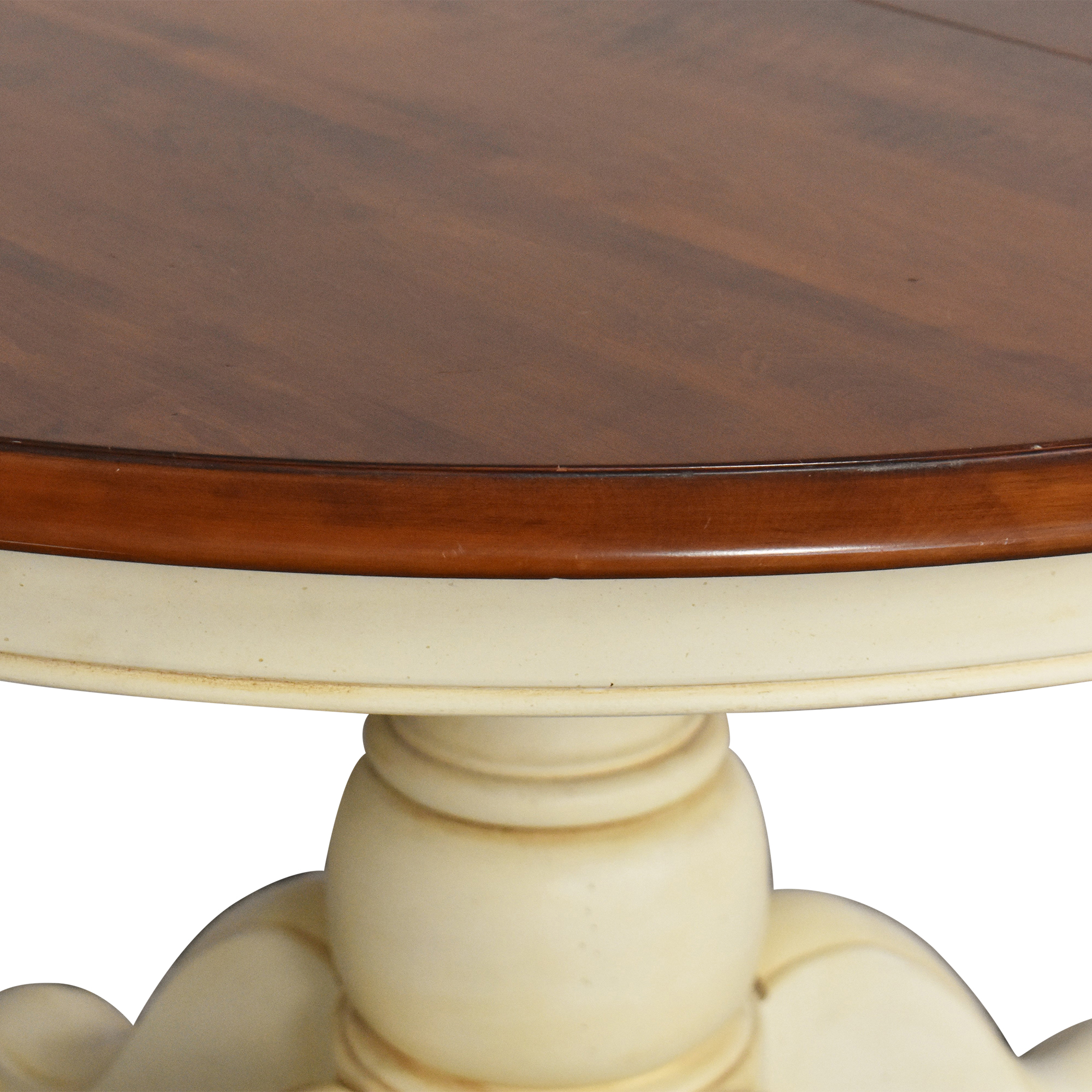 Ethan Allen Ethan Allen Extendable Farmhouse Dining Table dimensions