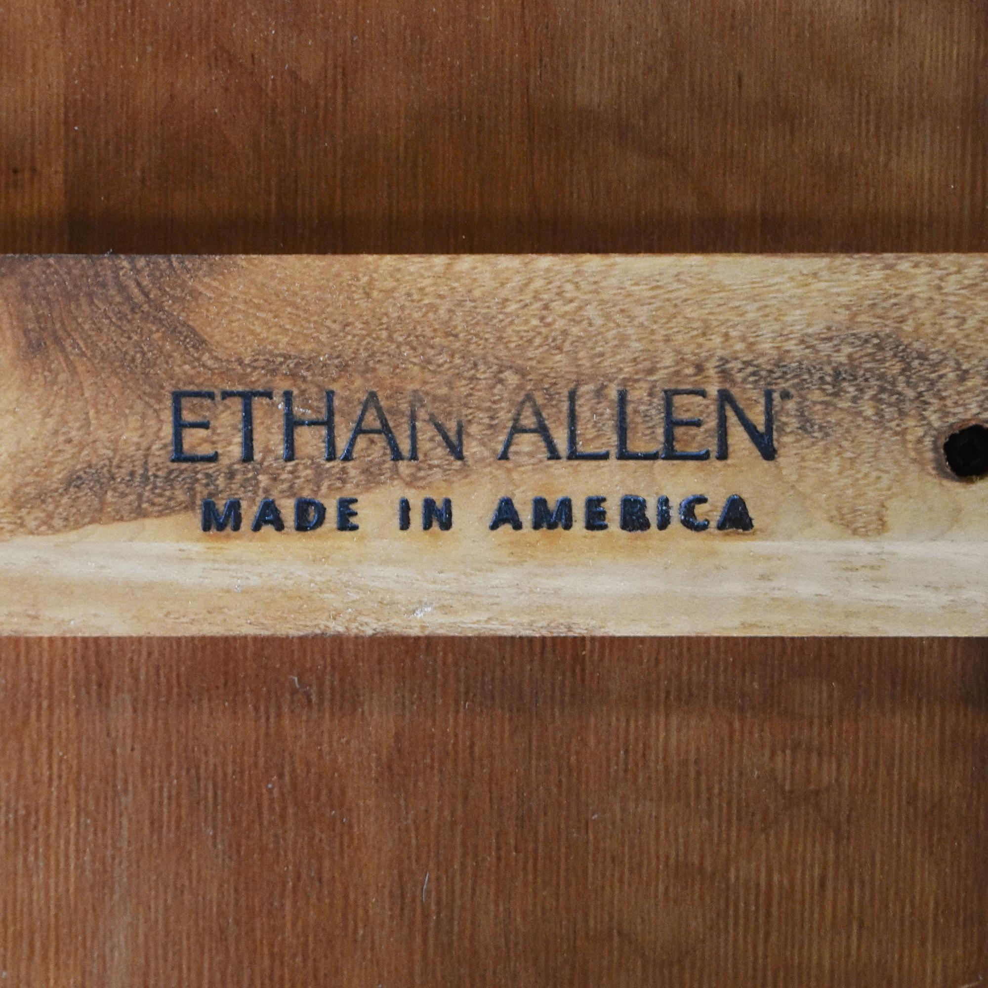 buy Ethan Allen Extendable Farmhouse Dining Table Ethan Allen Tables